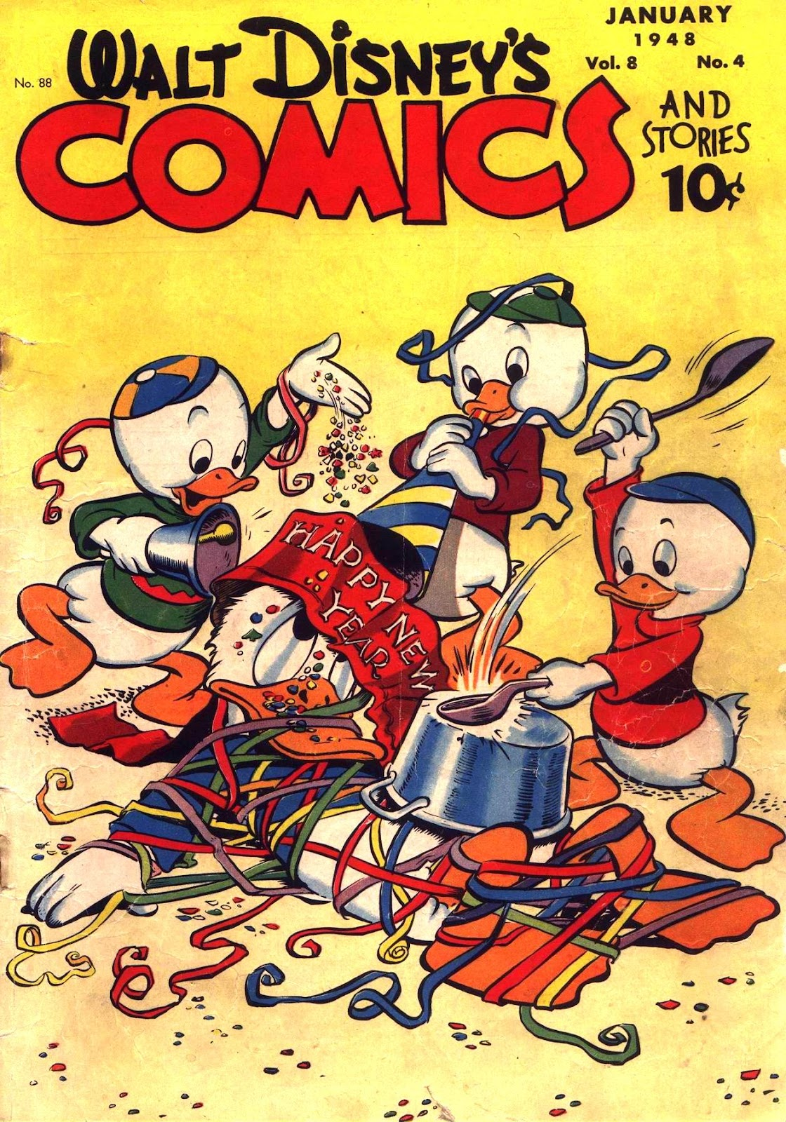 Walt Disney's Comics and Stories issue 88 - Page 1