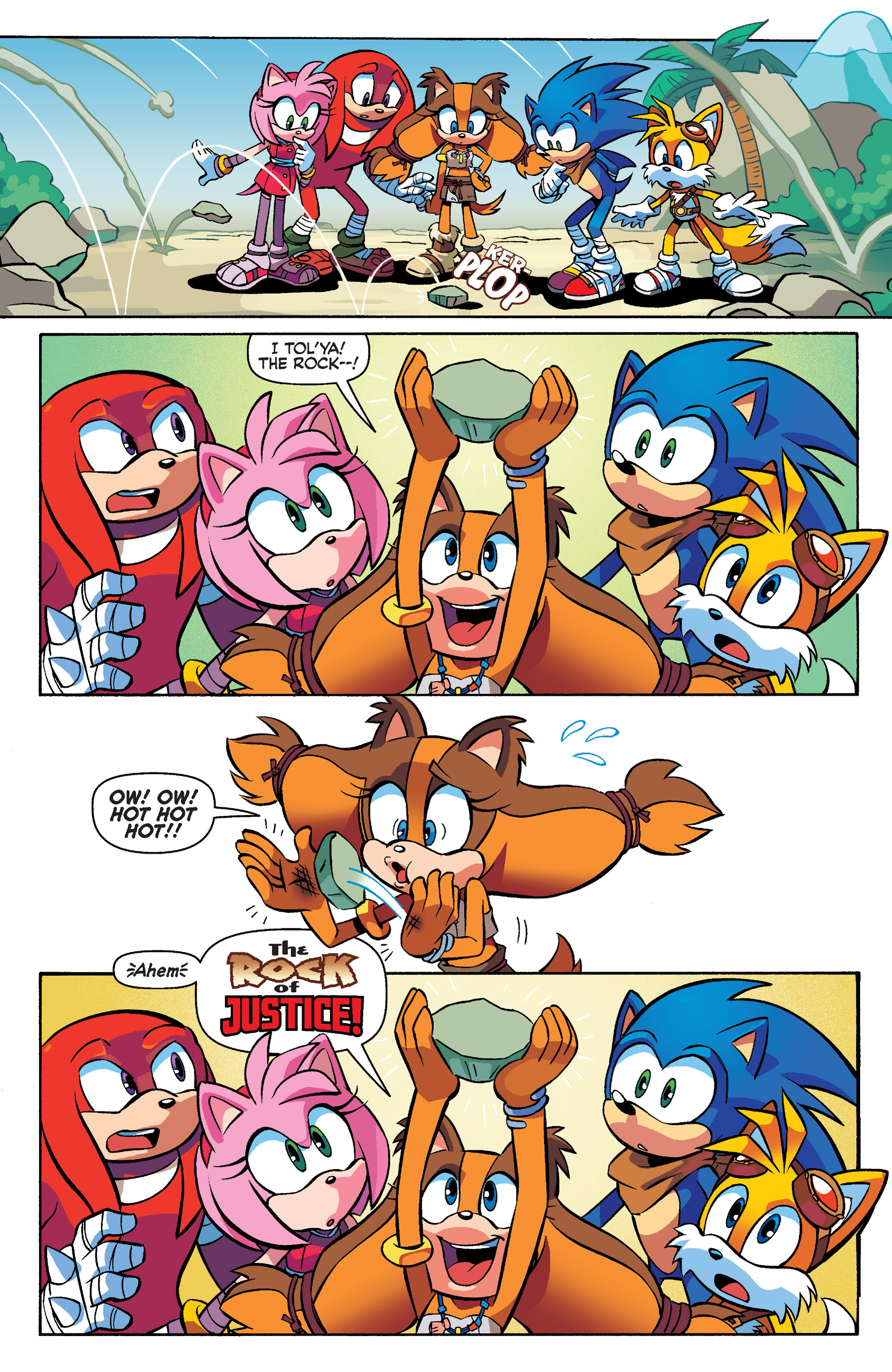 Read online Sonic Boom comic -  Issue #4 - 17