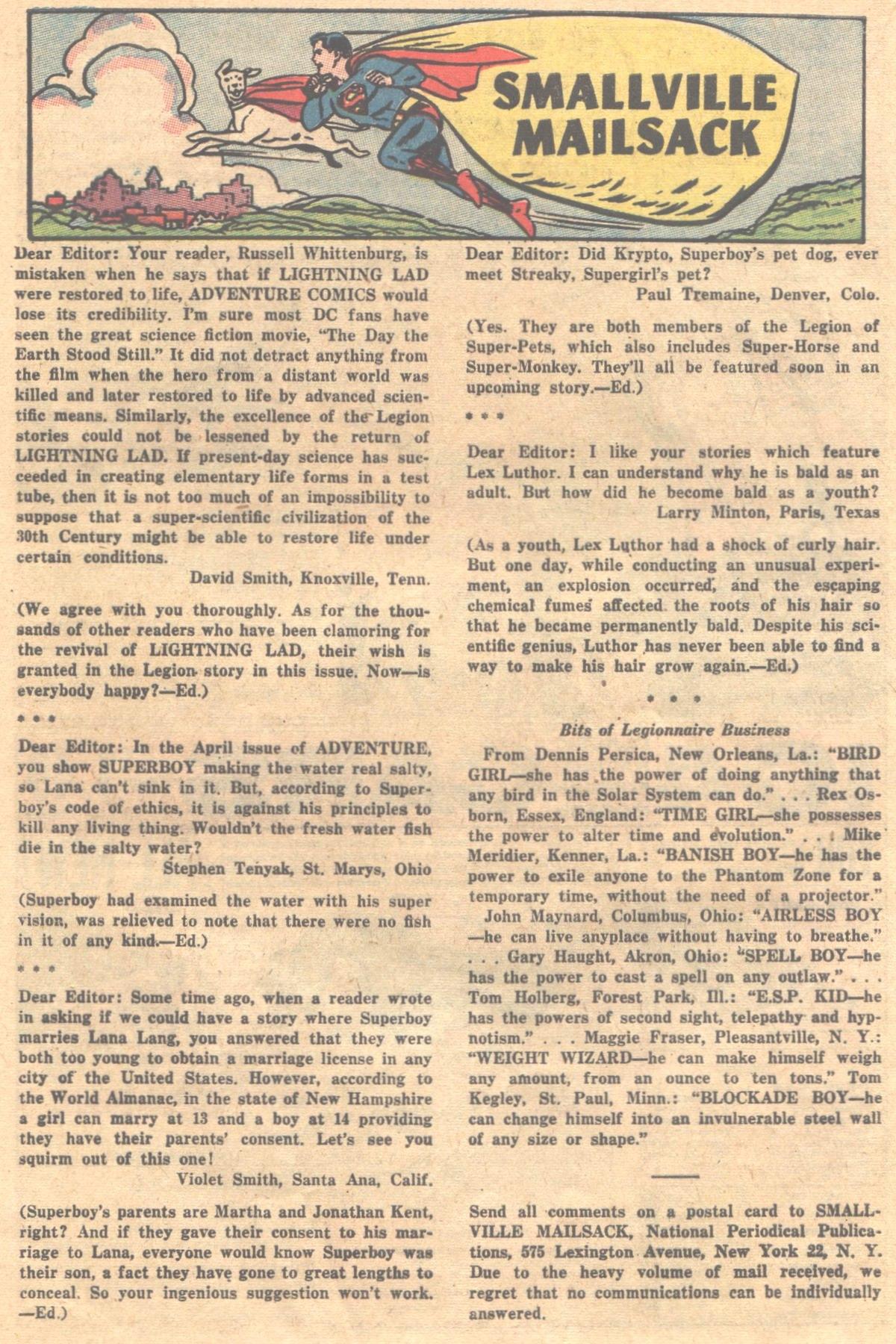 Read online Adventure Comics (1938) comic -  Issue #312 - 20