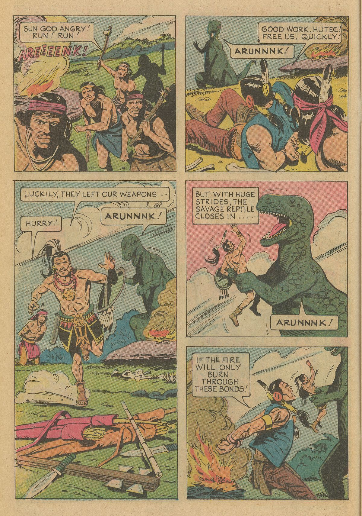 Read online Turok, Son of Stone comic -  Issue #95 - 16