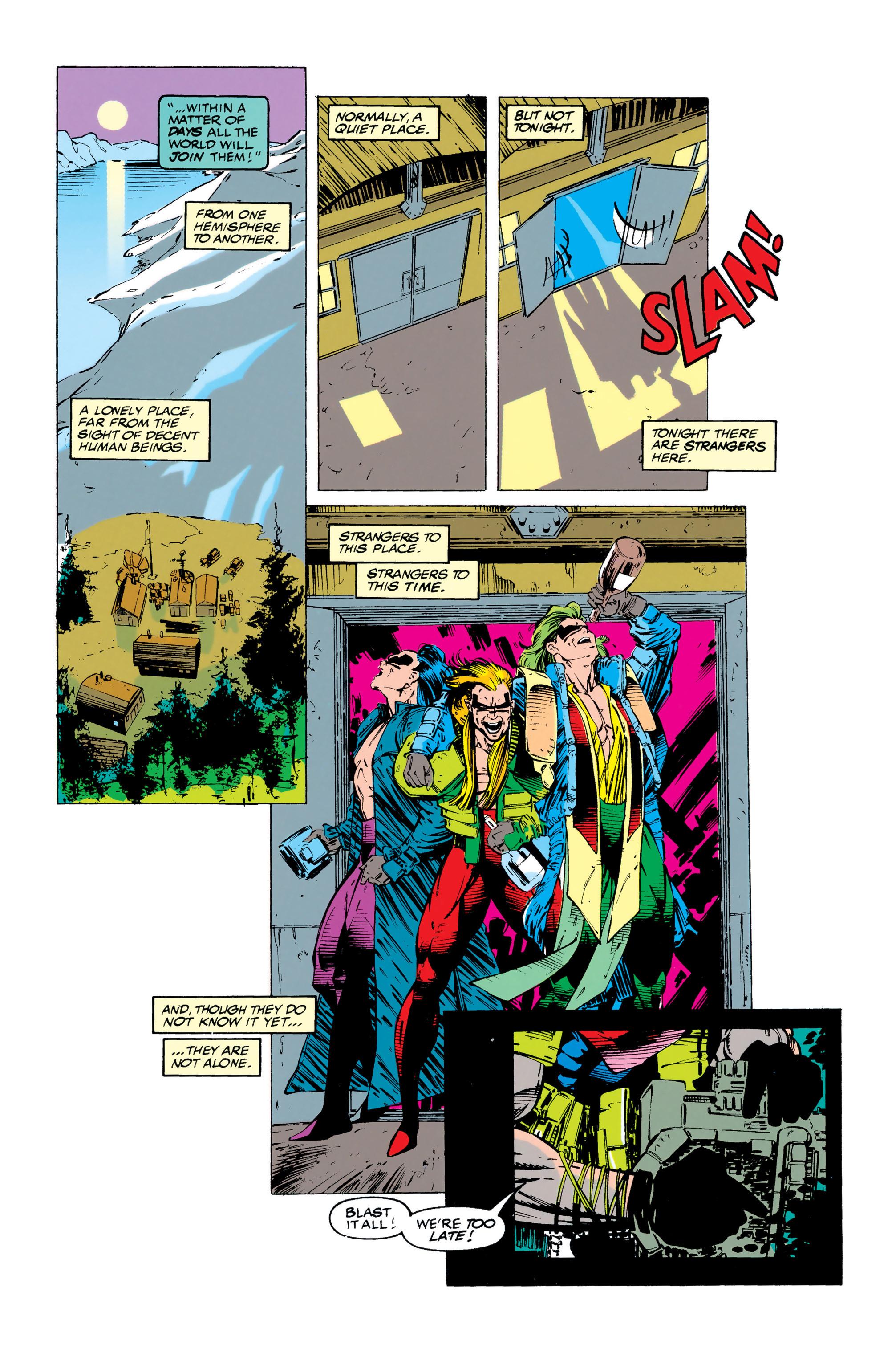 Read online Uncanny X-Men (1963) comic -  Issue #284 - 19