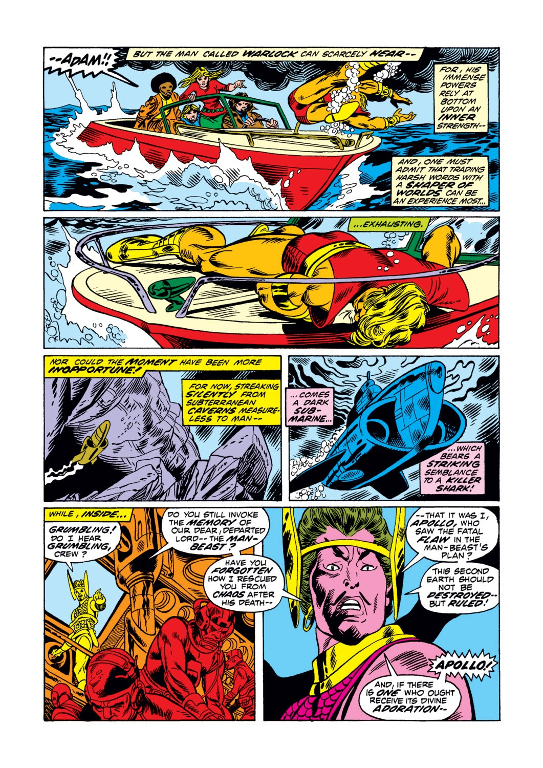 Warlock (1972) issue 3 - Page 7