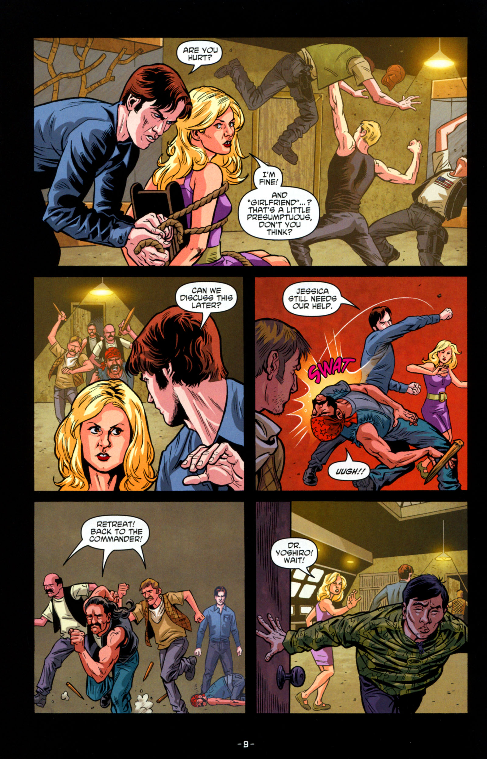 Read online True Blood: Tainted Love comic -  Issue #6 - 11