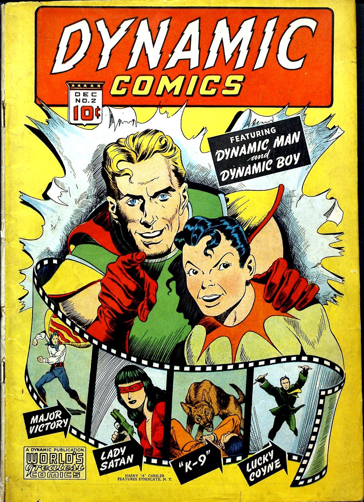 Dynamic Comics 2 Page 1