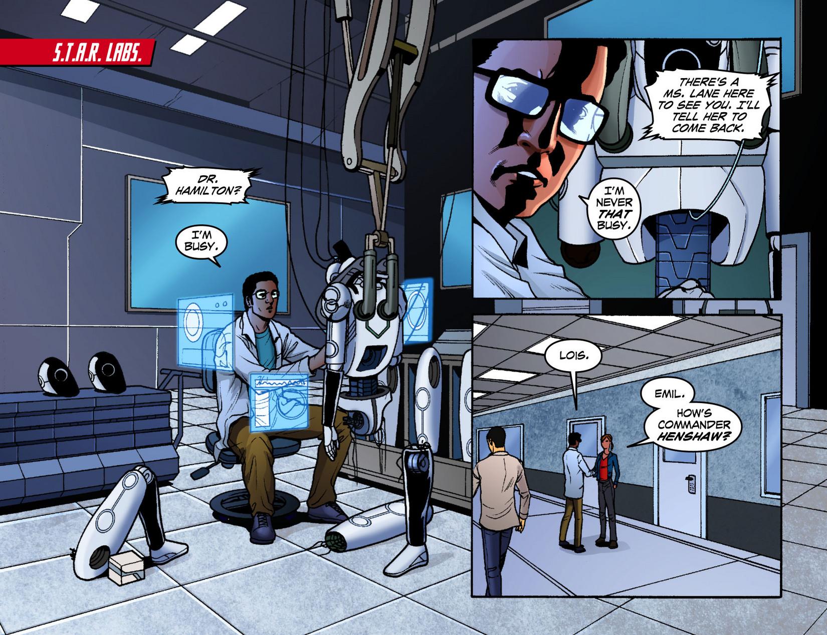 Read online Smallville: Season 11 comic -  Issue #7 - 9