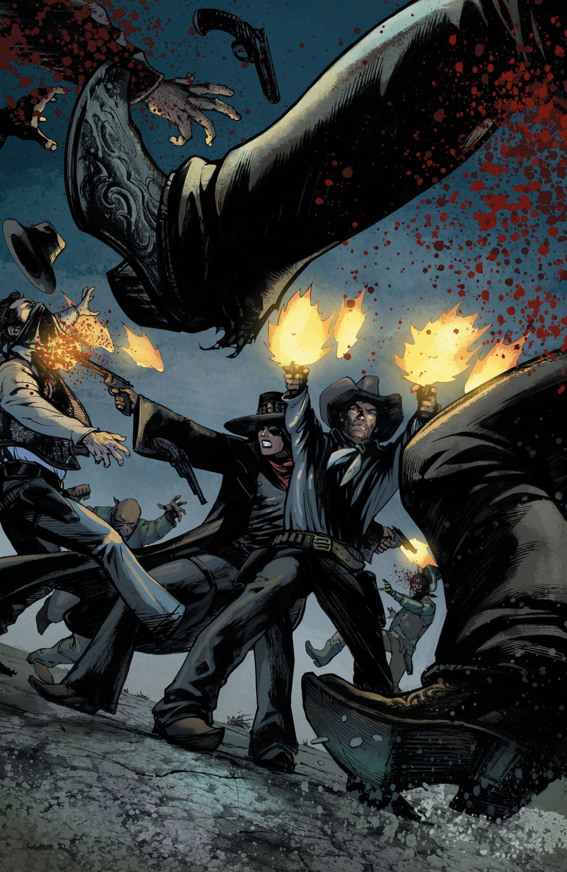 Read online All-Star Western (2011) comic -  Issue #33 - 14