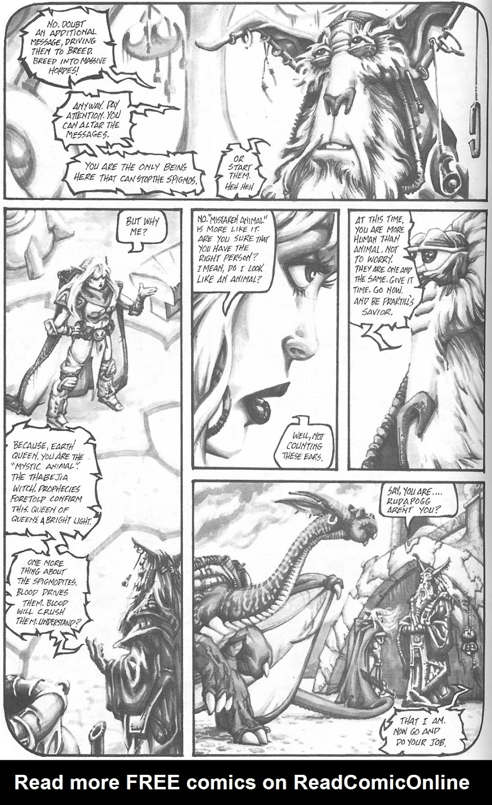 Read online Animal Mystic comic -  Issue #4 - 13