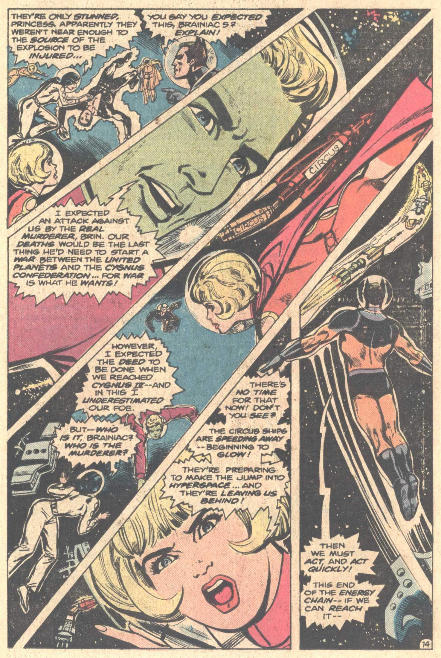 Legion of Super-Heroes (1980) 261 Page 24