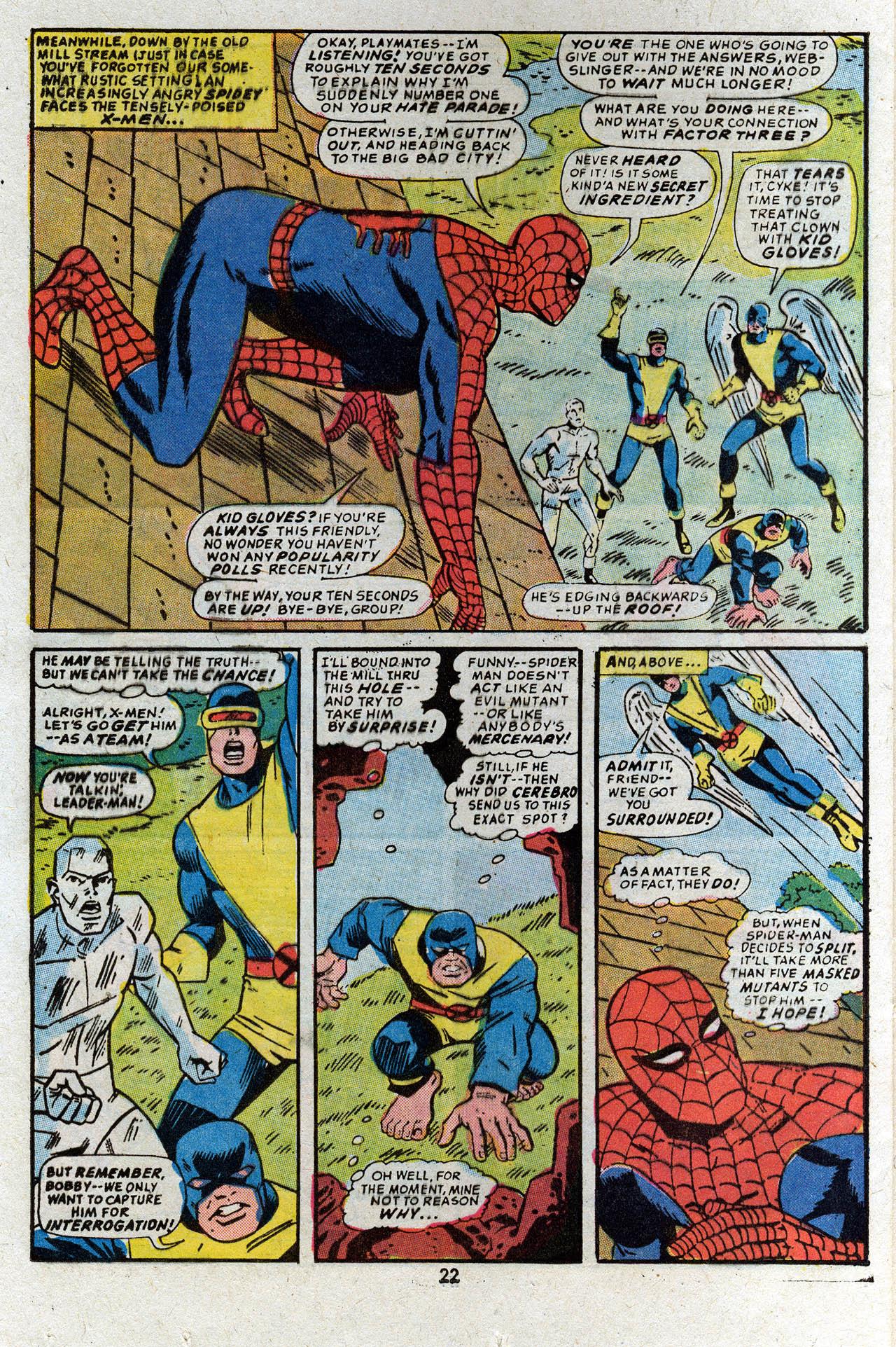 Read online Uncanny X-Men (1963) comic -  Issue #83 - 24