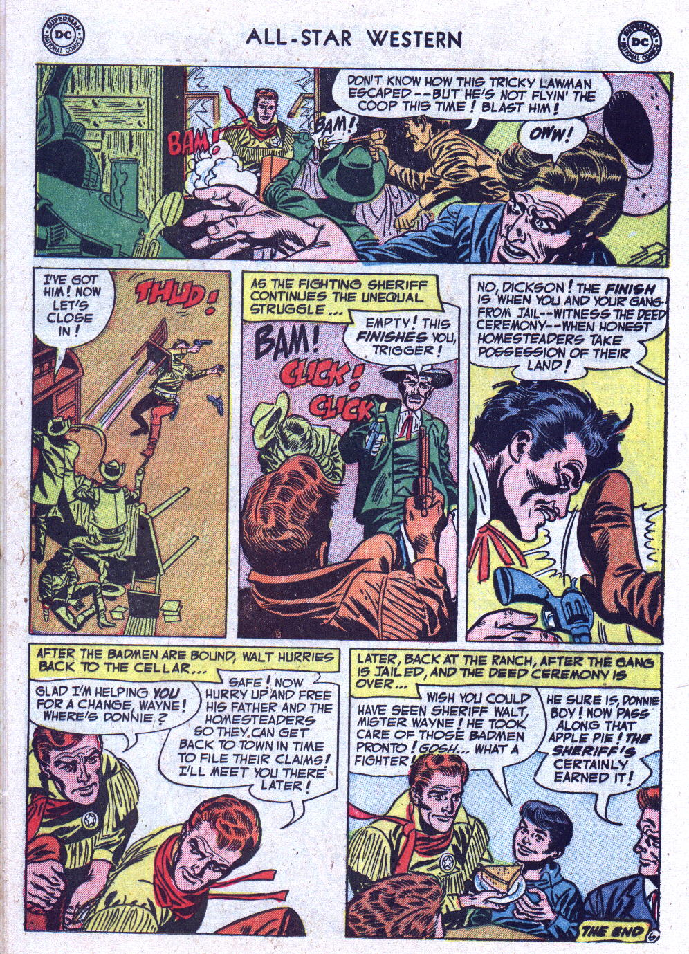 Read online All-Star Western (1951) comic -  Issue #71 - 16
