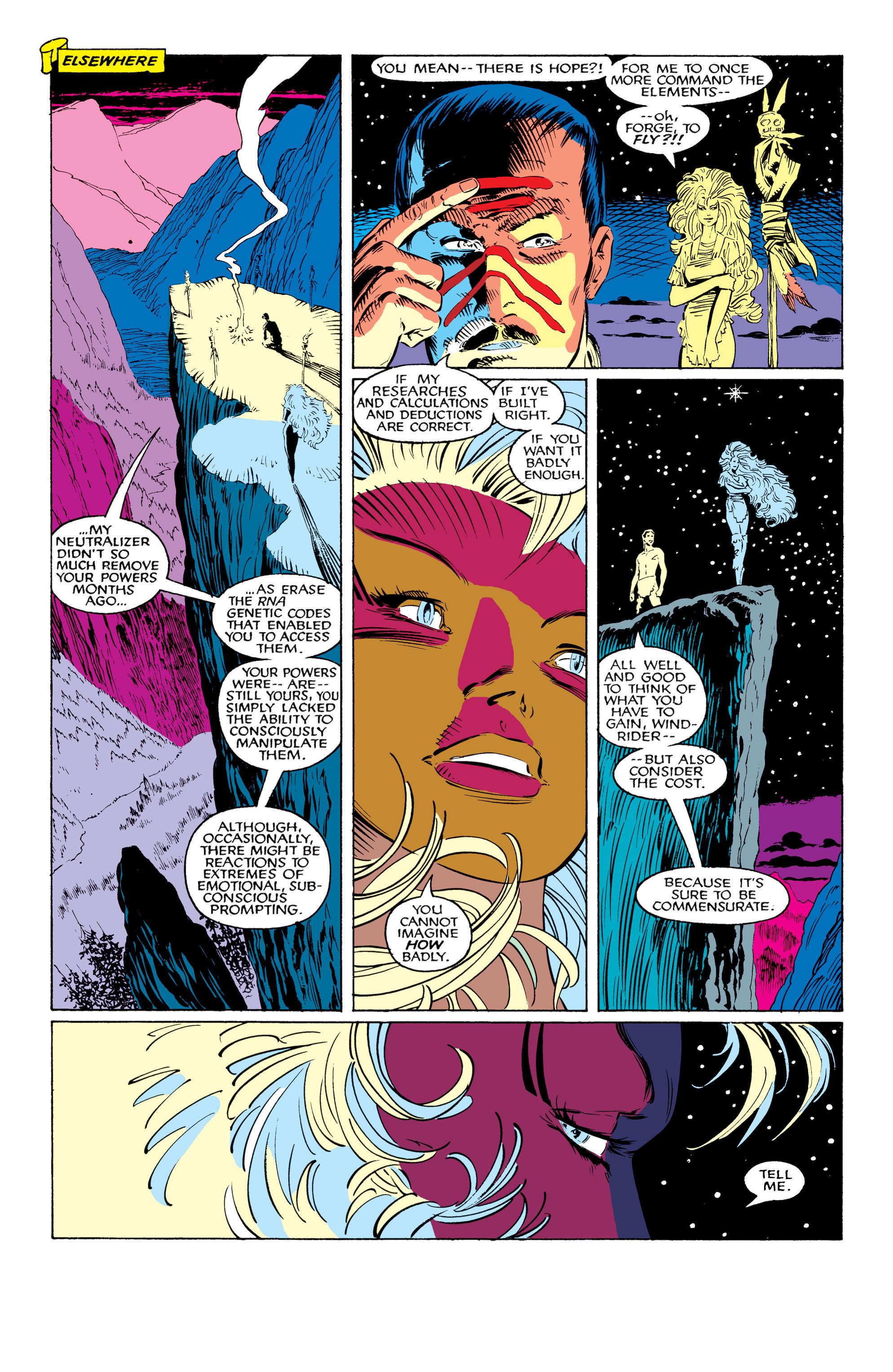 Read online Uncanny X-Men (1963) comic -  Issue #226 - 35