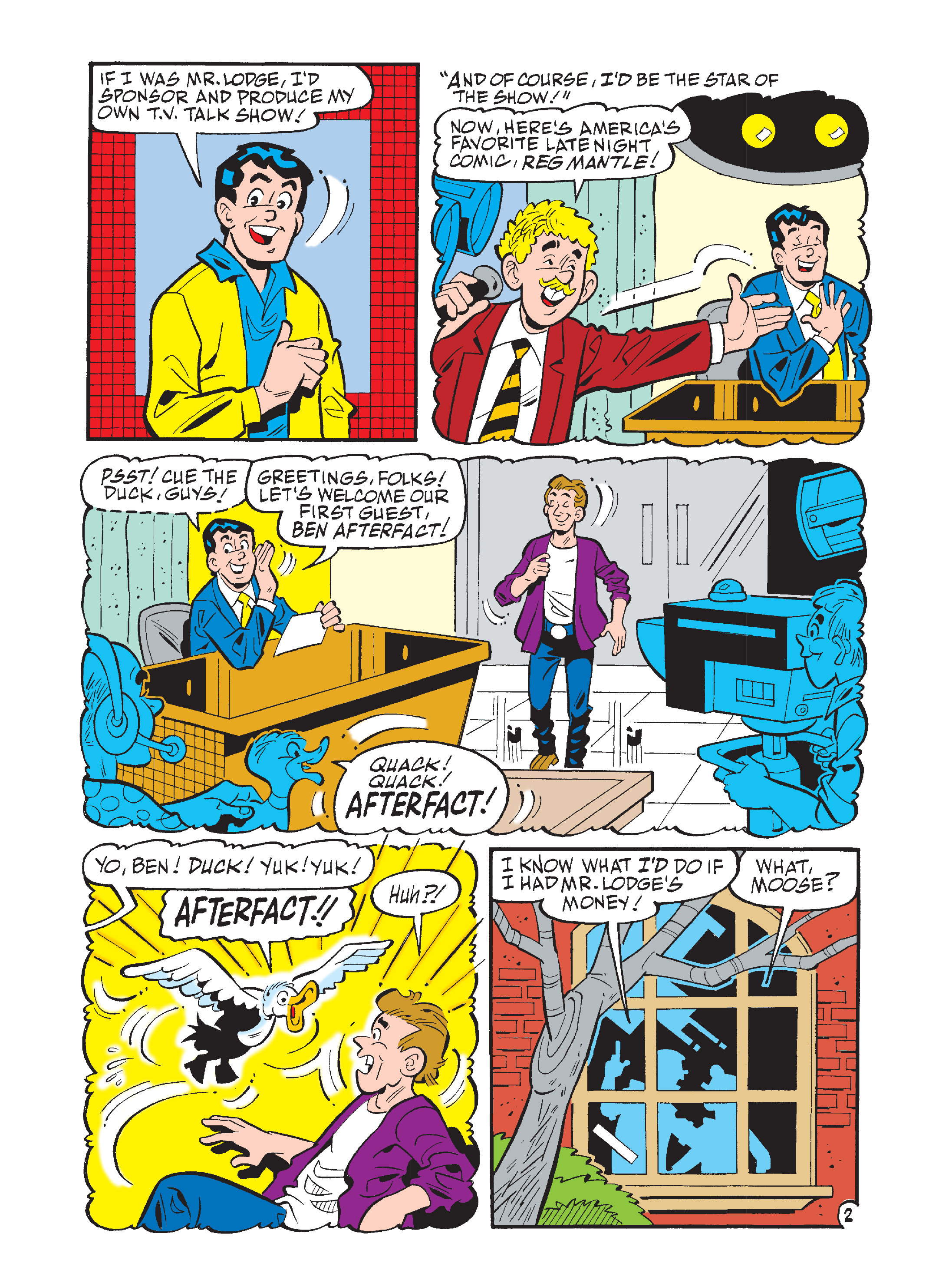 Read online Archie's Funhouse Double Digest comic -  Issue #10 - 79
