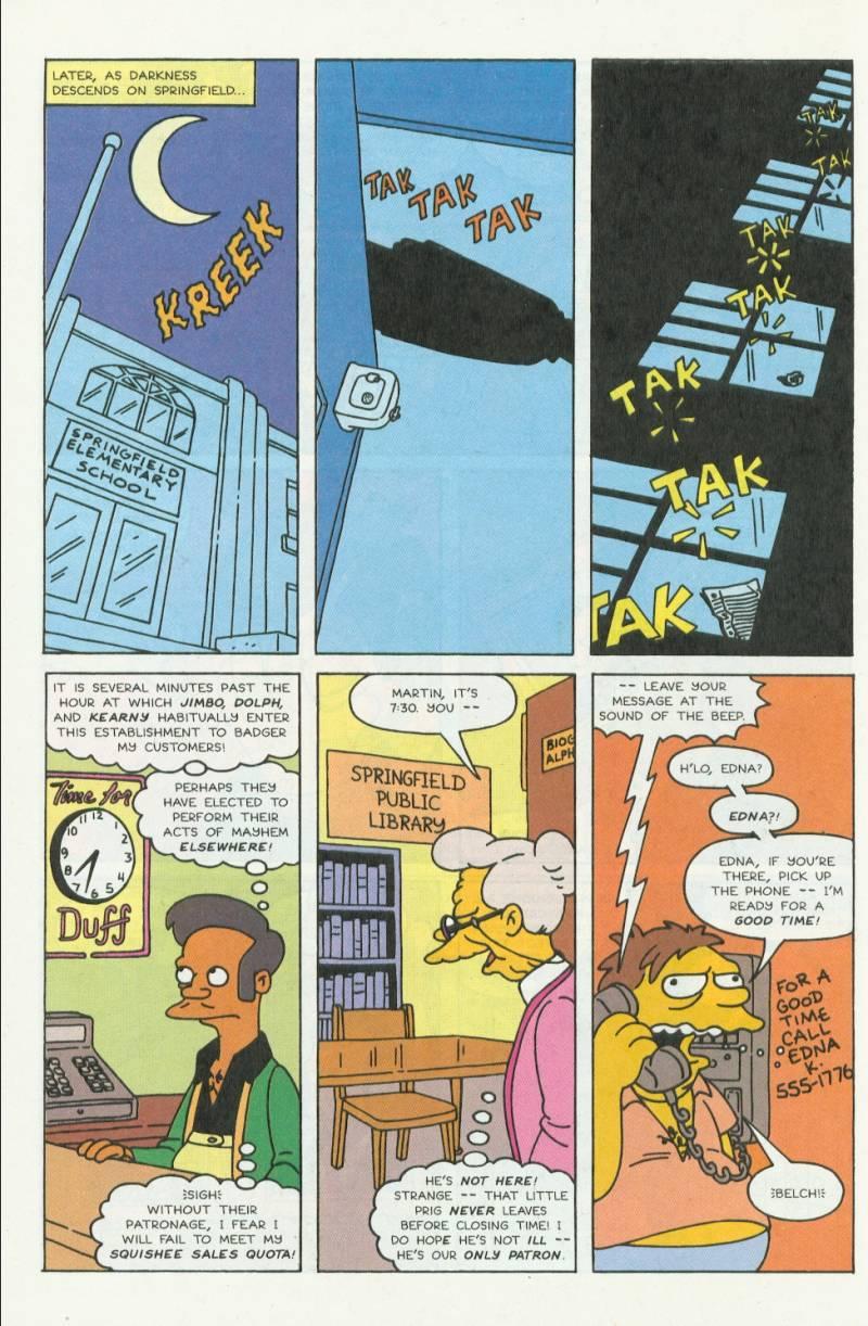 Read online Simpsons Comics comic -  Issue #3 - 5