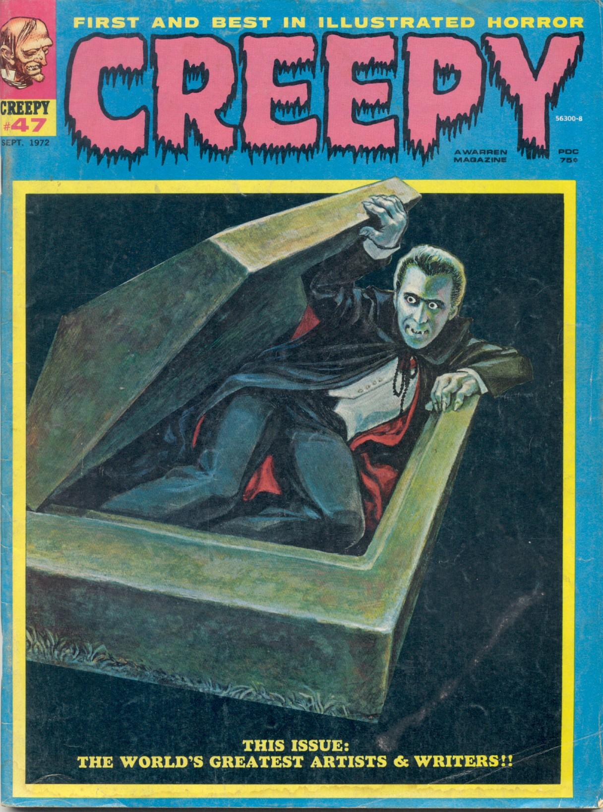 Creepy (1964) 47 Page 1