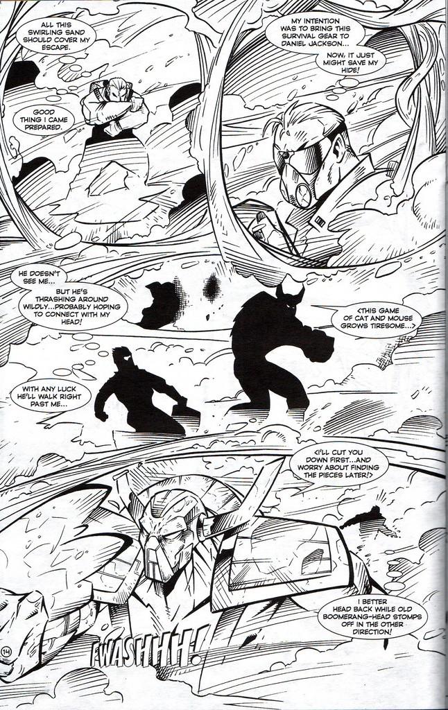 Read online Stargate: One Nation Under Ra comic -  Issue # Full - 16