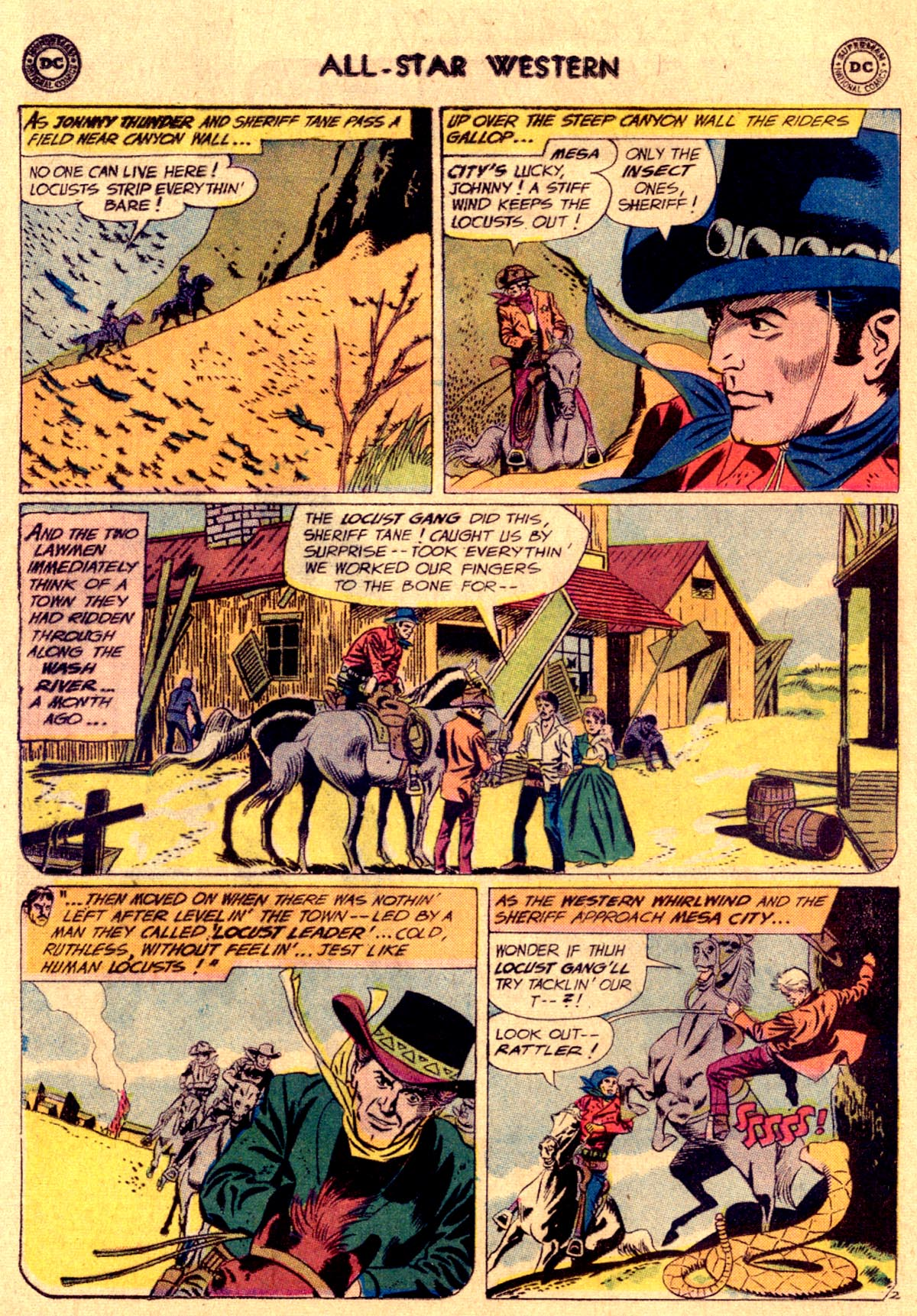 Read online All-Star Western (1951) comic -  Issue #112 - 4