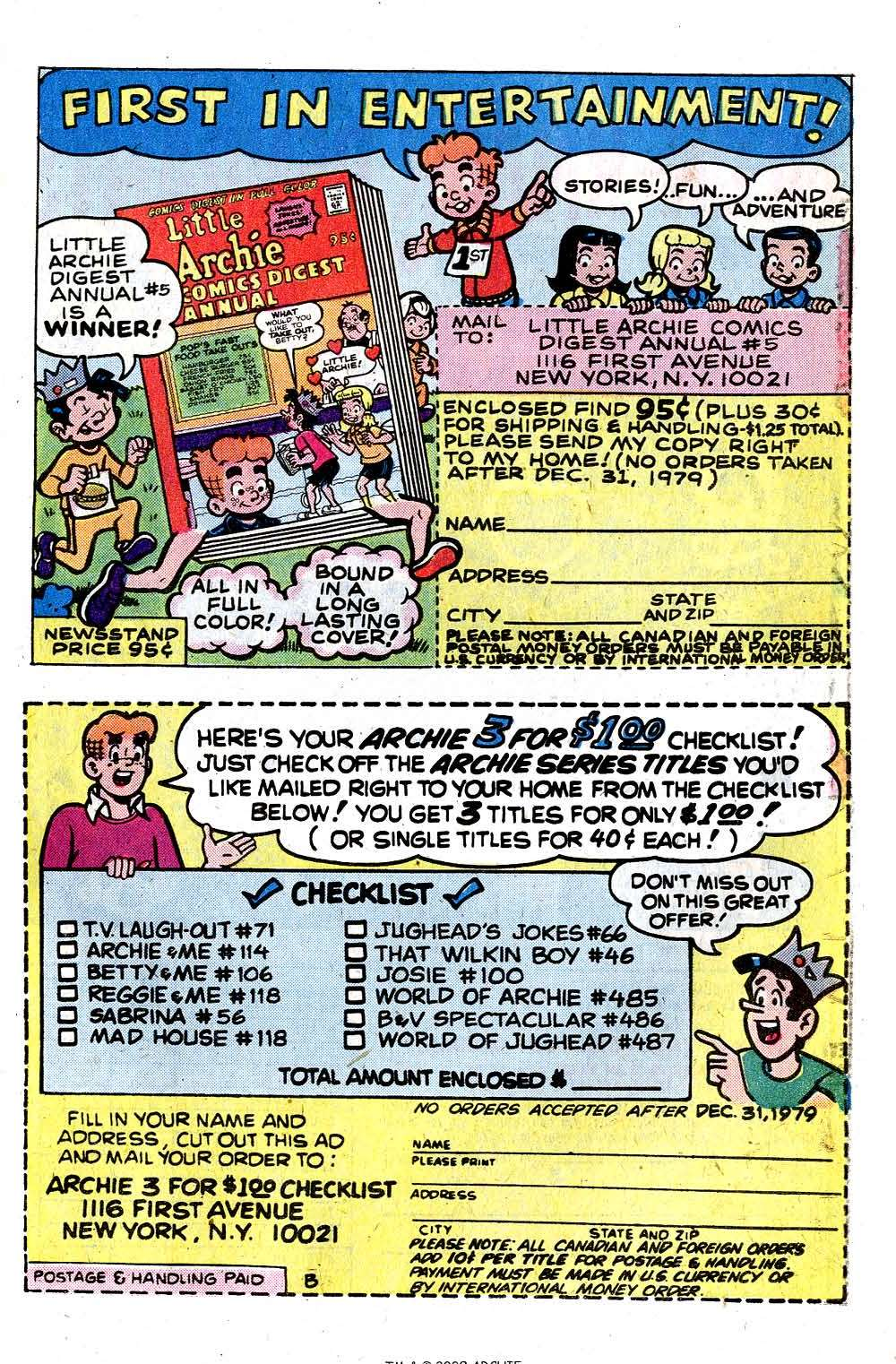 Read online Archie (1960) comic -  Issue #284 - 27