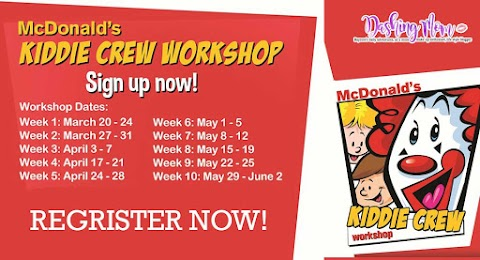 Celebrate summer fun with McDonald's Kiddie Crew Workshop's newest and biggest program