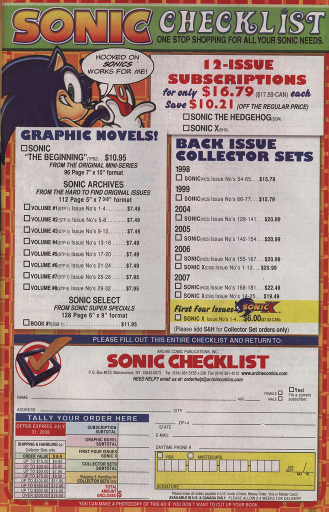Read online Sonic X comic -  Issue #35 - 33