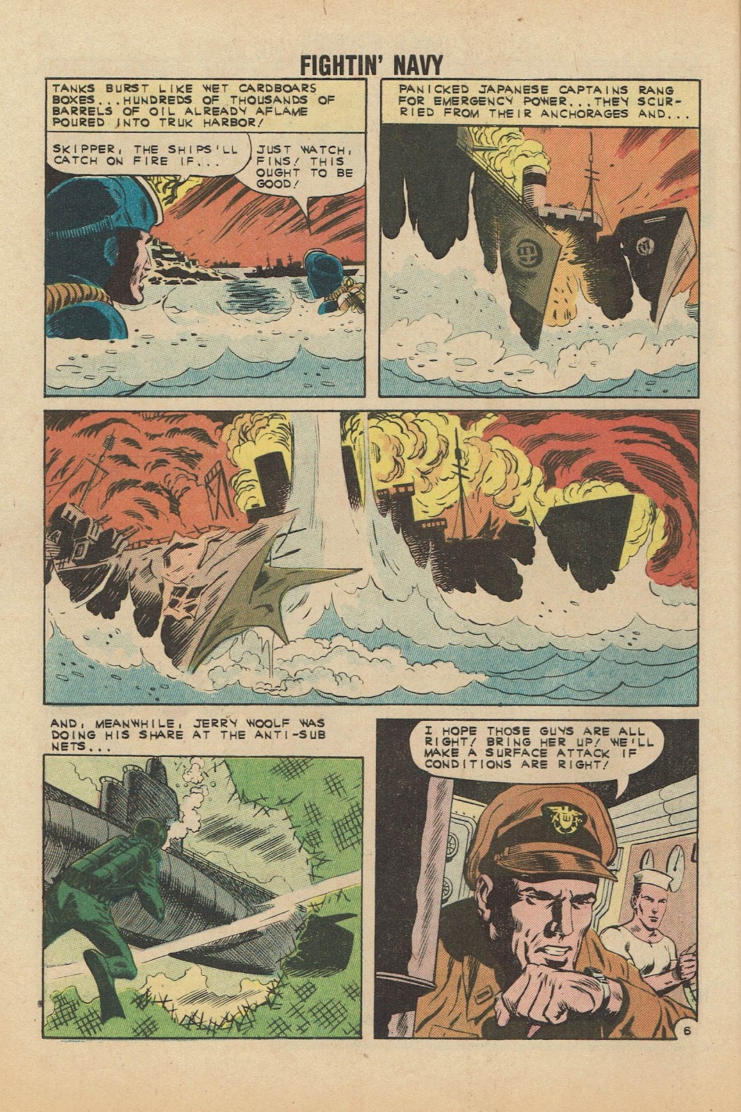 Read online Fightin' Navy comic -  Issue #104 - 32