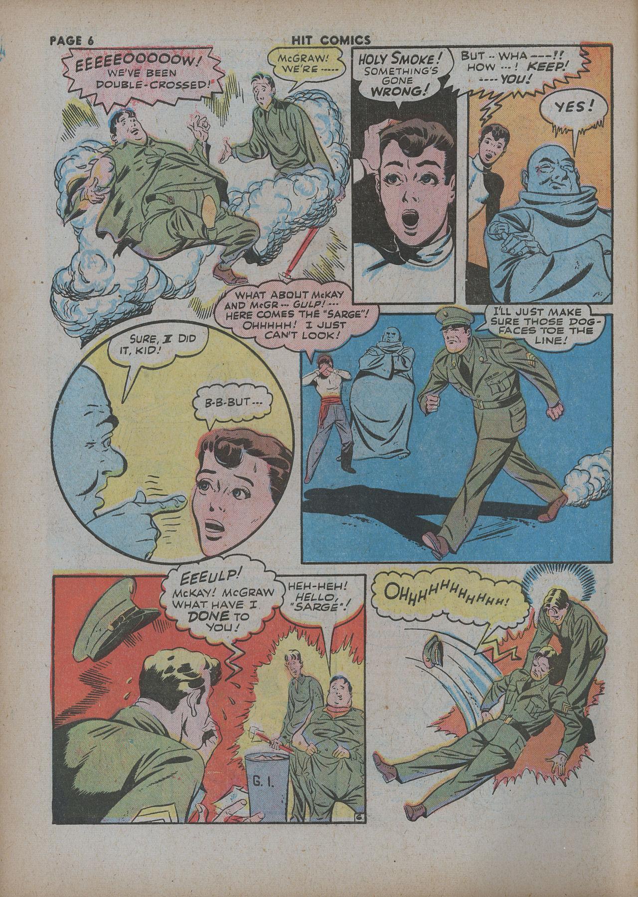 Read online Hit Comics comic -  Issue #27 - 8