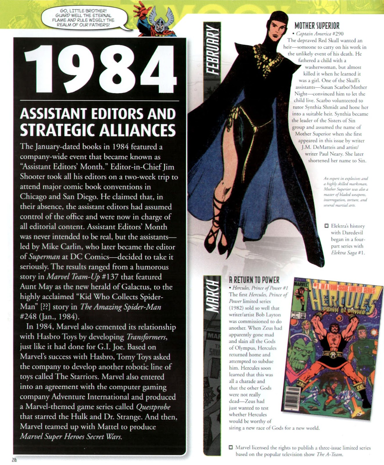 Read online Marvel Chronicle comic -  Issue # TPB (Part 3) - 14