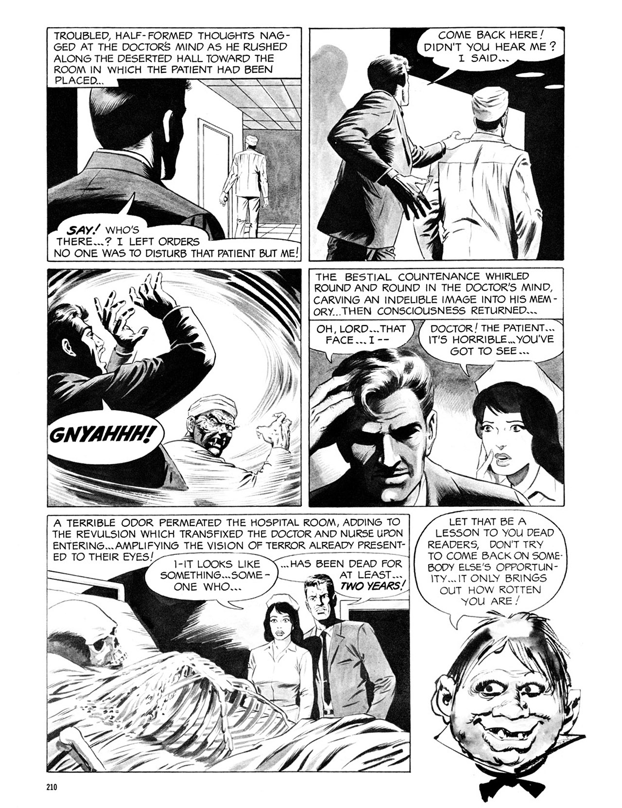 Read online Eerie Archives comic -  Issue # TPB 2 - 211