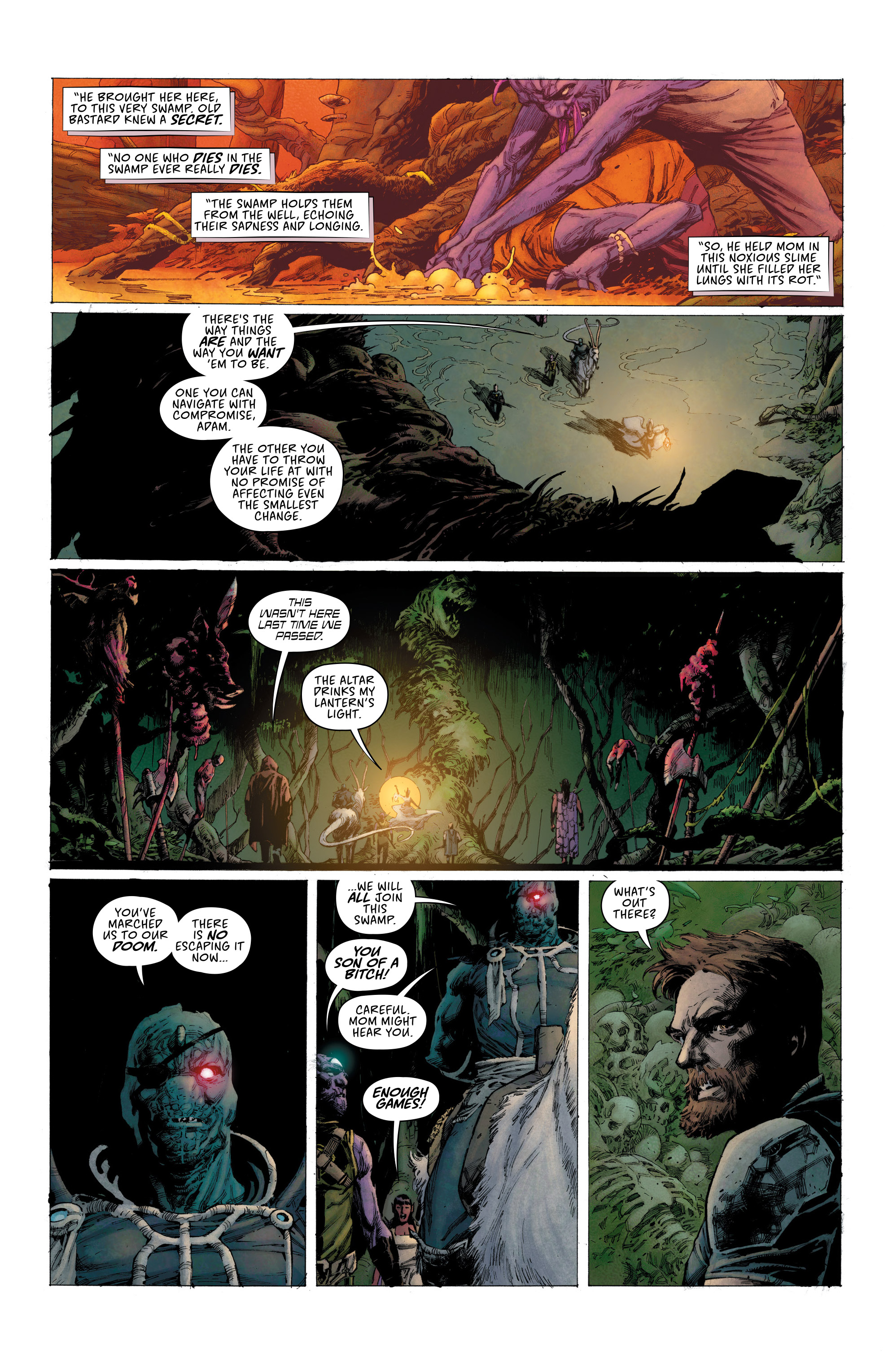 Read online Seven To Eternity comic -  Issue #6 - 8
