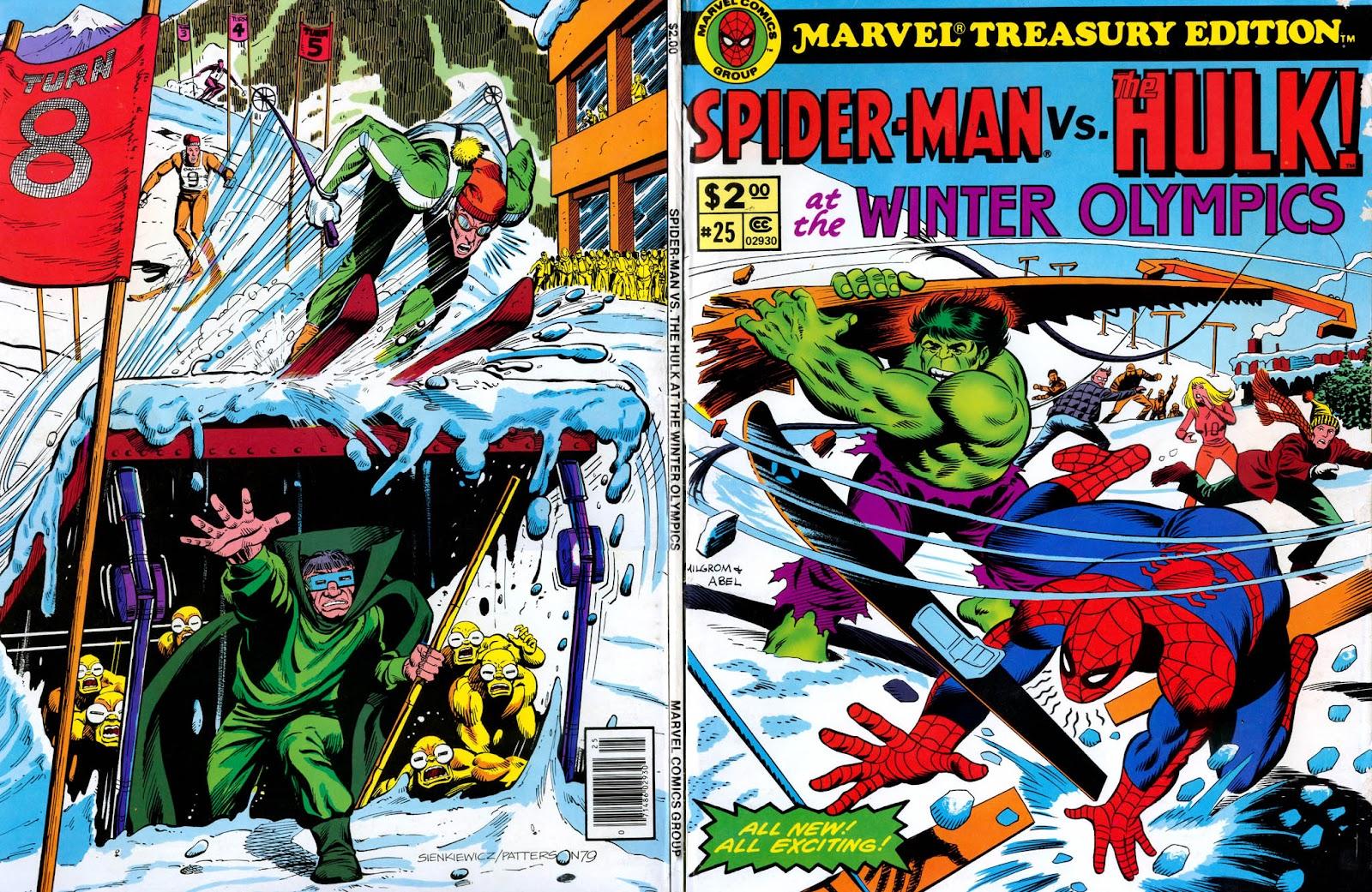 Marvel Treasury Edition 25 Page 1