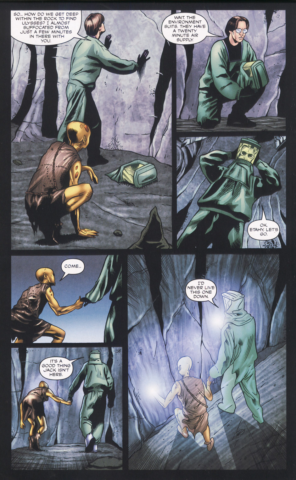 Read online Stargate SG-1: Fall of Rome comic -  Issue #2 - 18