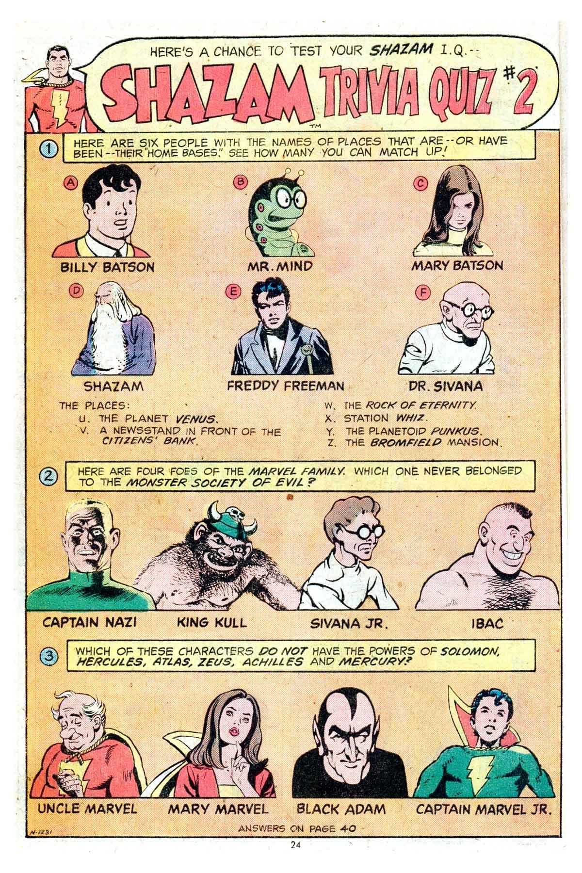 Read online Shazam! (1973) comic -  Issue #17 - 24