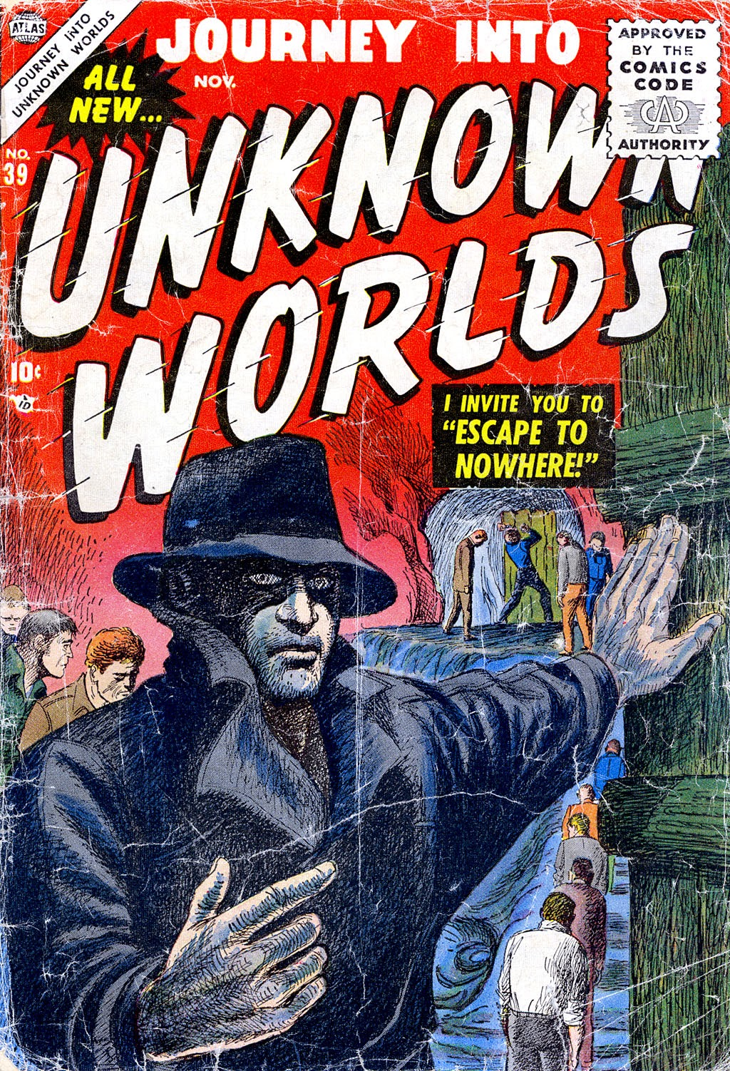 Journey Into Unknown Worlds (1950) issue 39 - Page 1