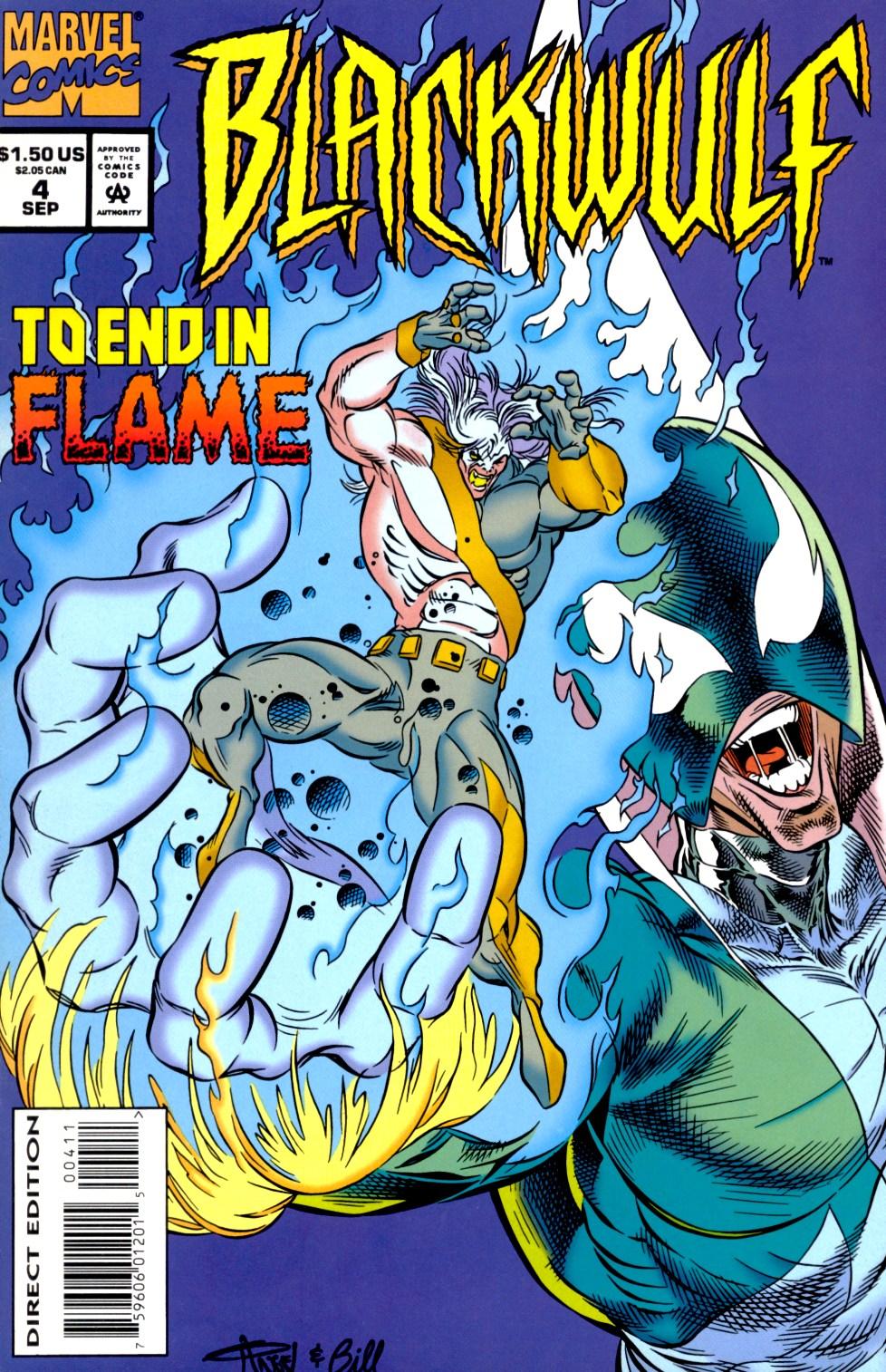 Read online Blackwulf comic -  Issue #4 - 1