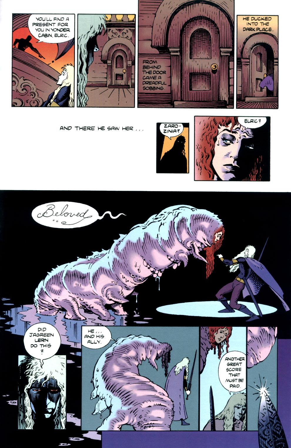 Read online Elric: Stormbringer comic -  Issue #5 - 27