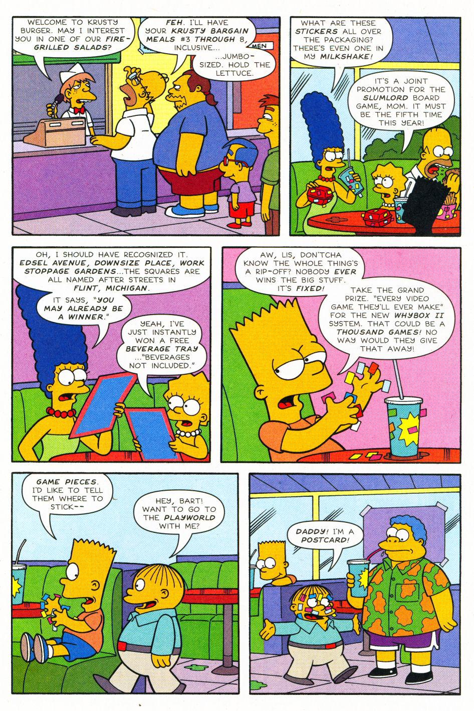 Read online Simpsons Comics Presents Bart Simpson comic -  Issue #27 - 21