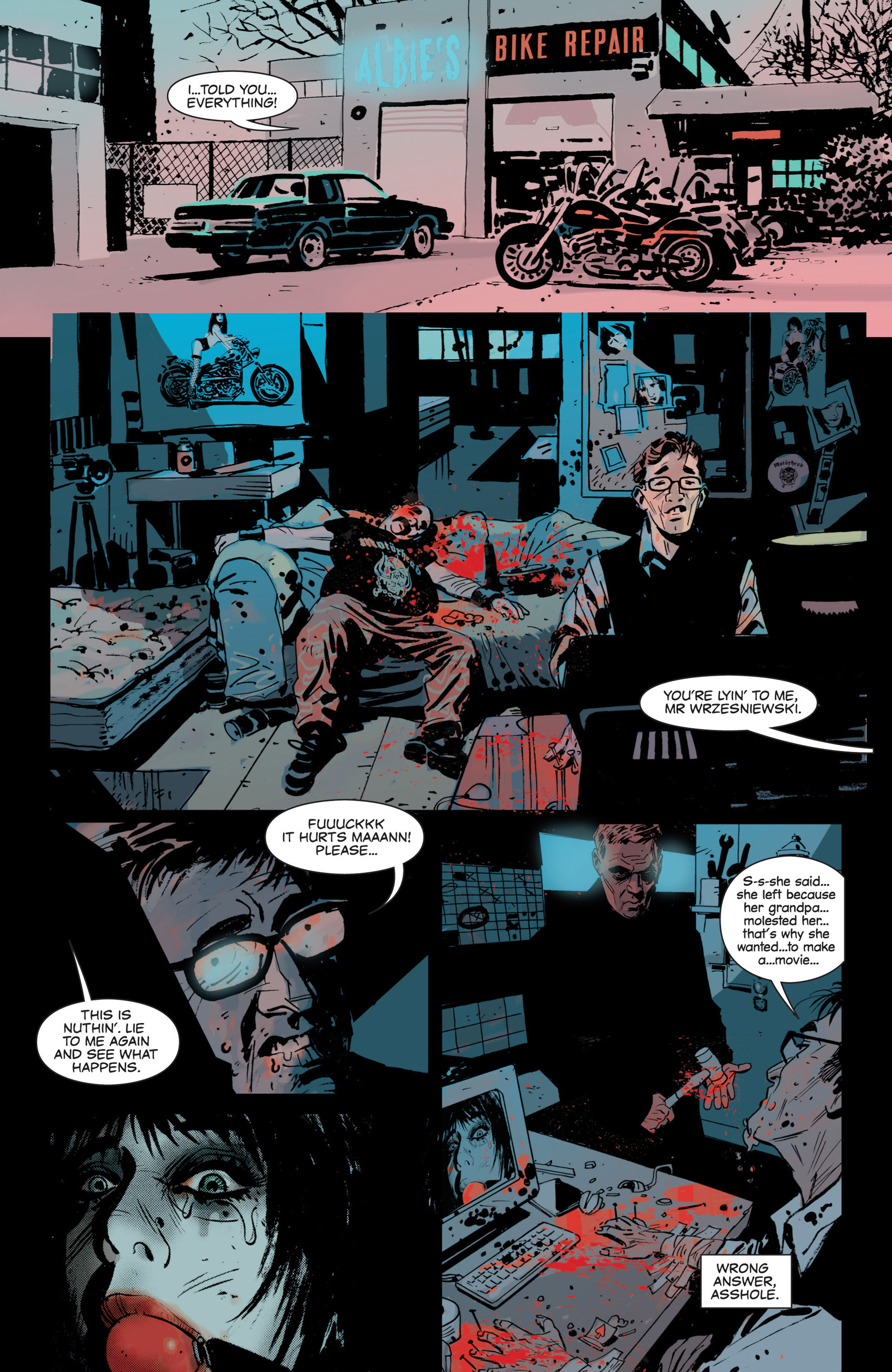 Read online Sex and Violence comic -  Issue # Full - 16