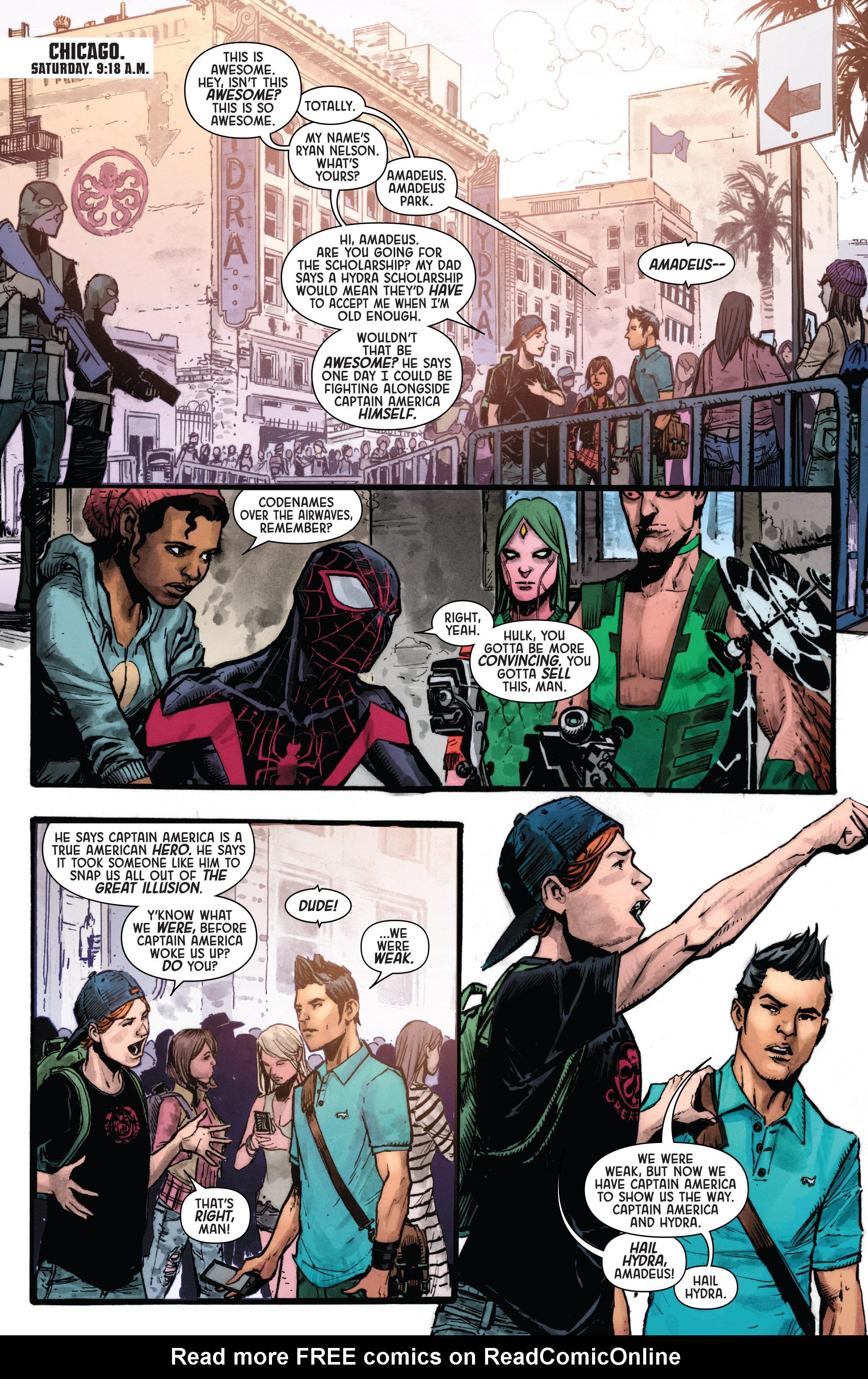 Read online Secret Empire: Uprising comic -  Issue # Full - 9