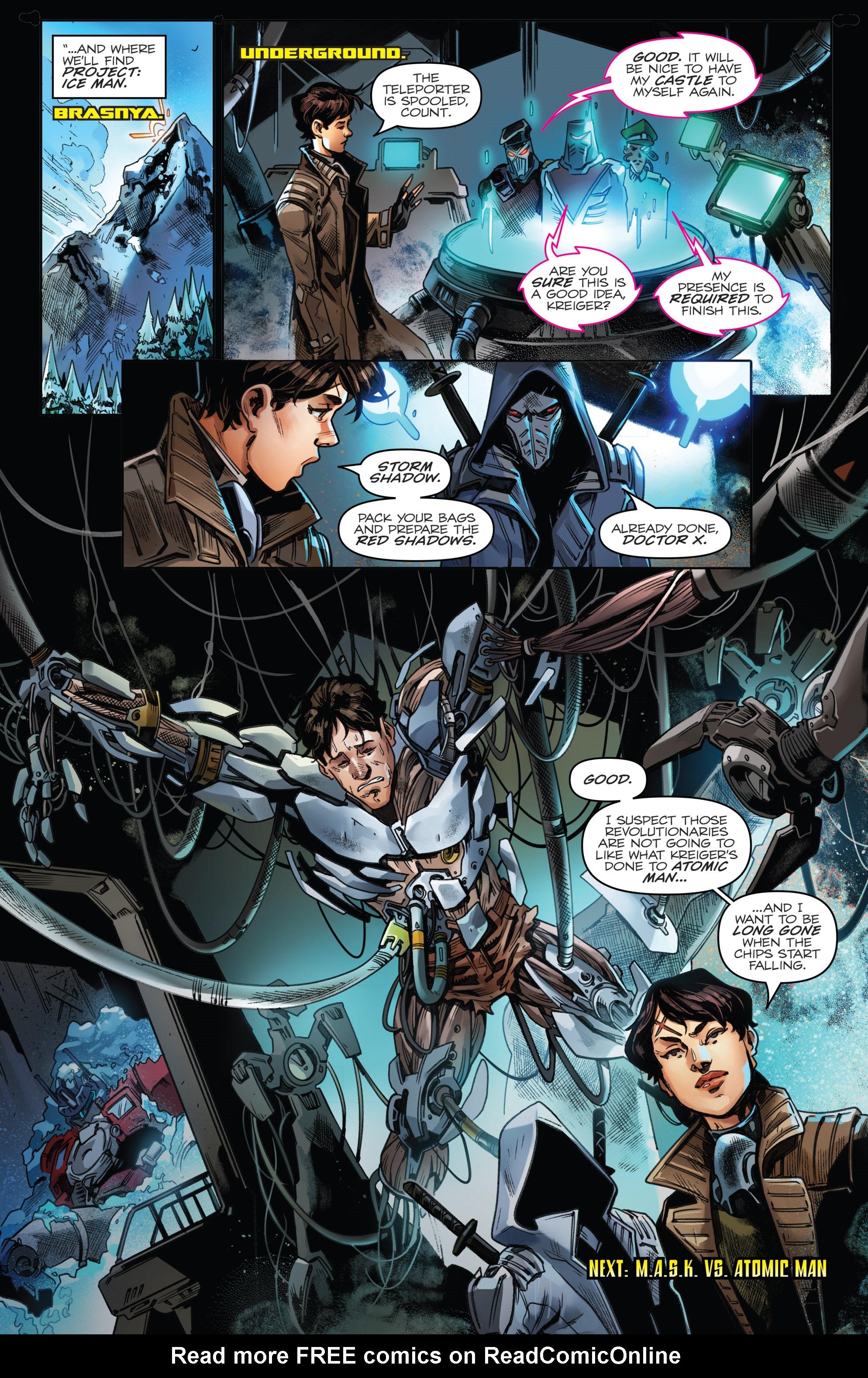 Read online Revolutionaries comic -  Issue #5 - 24