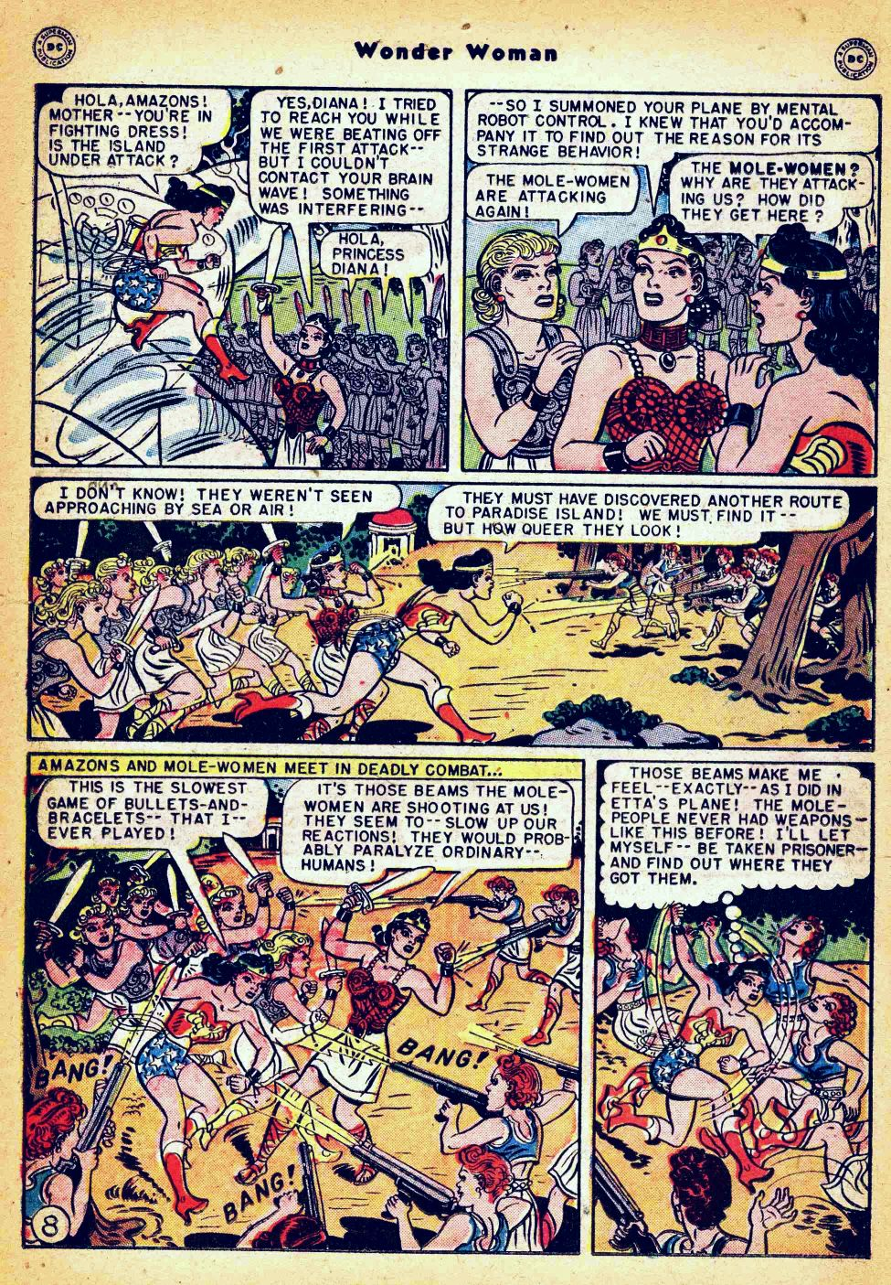 Read online Wonder Woman (1942) comic -  Issue #35 - 24
