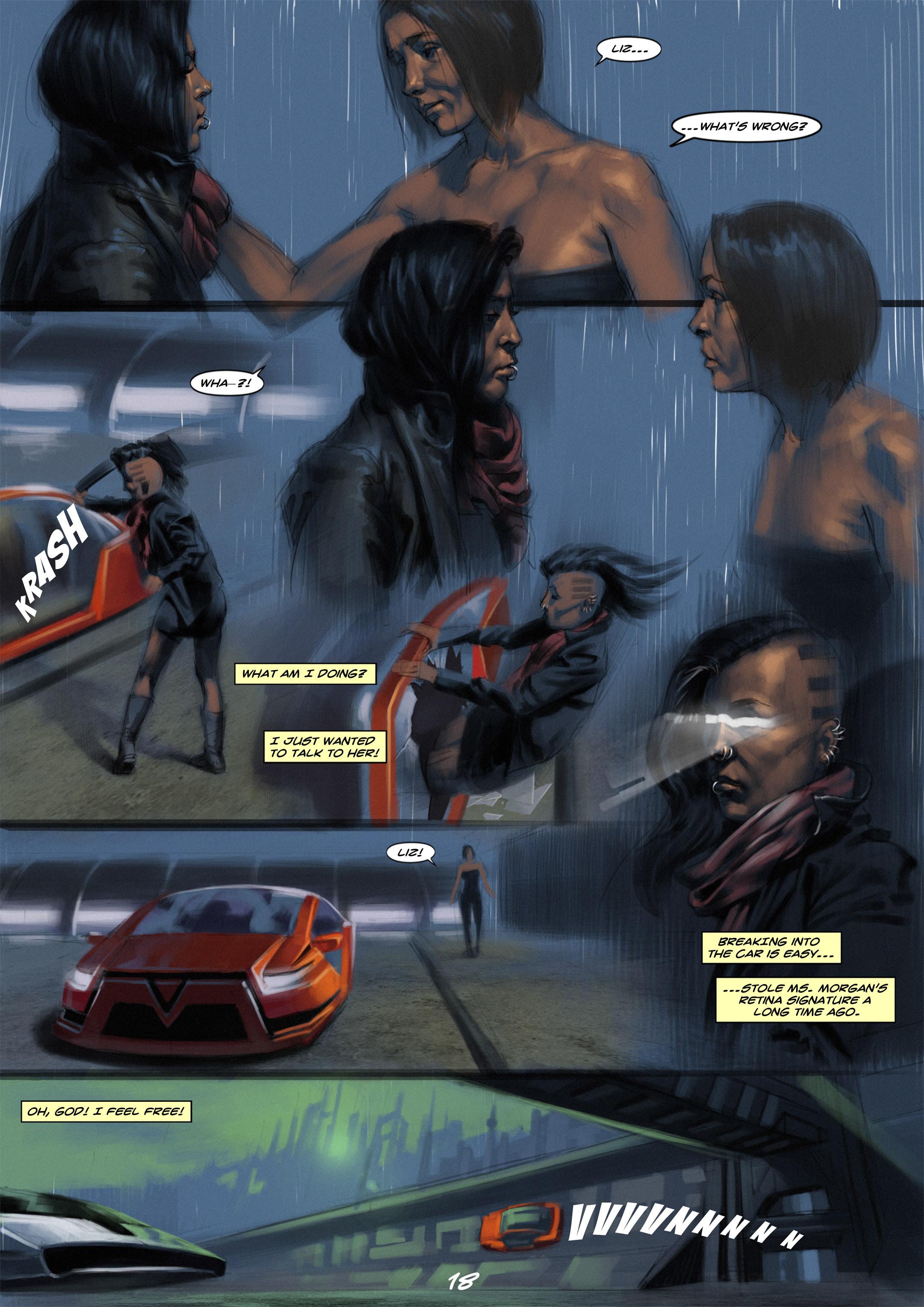 Read online Wynter comic -  Issue #1 - 18