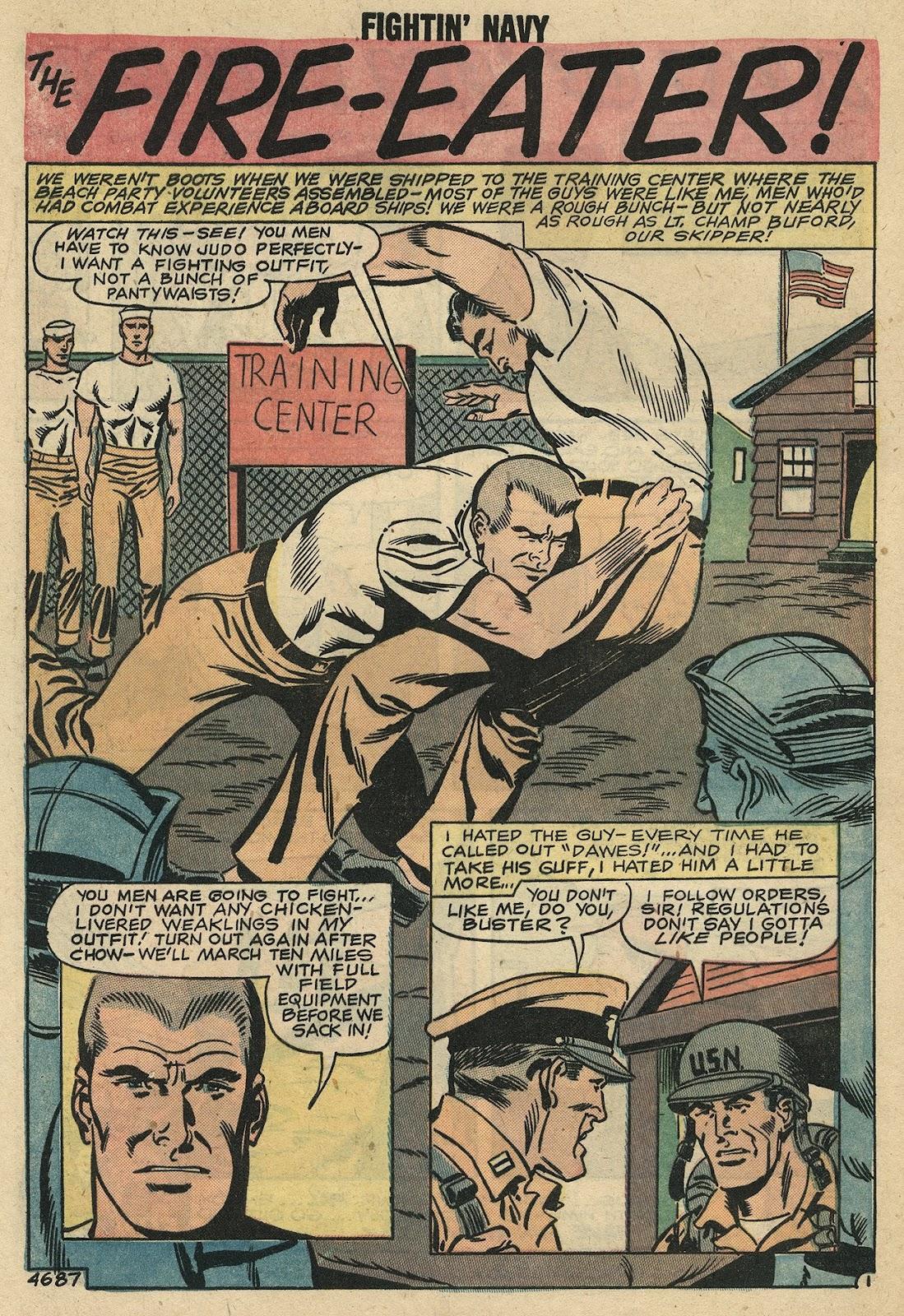 Read online Fightin' Navy comic -  Issue #86 - 27