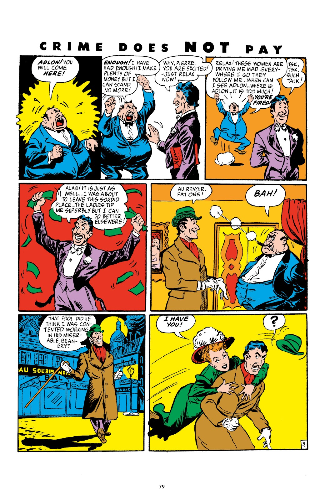 Read online Crime Does Not Pay Archives comic -  Issue # TPB 4 (Part 1) - 79