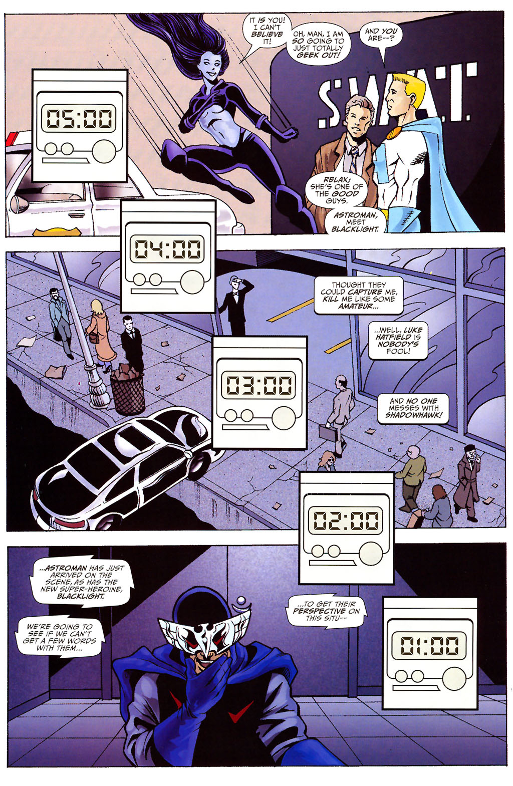 Read online ShadowHawk (2005) comic -  Issue #12 - 12