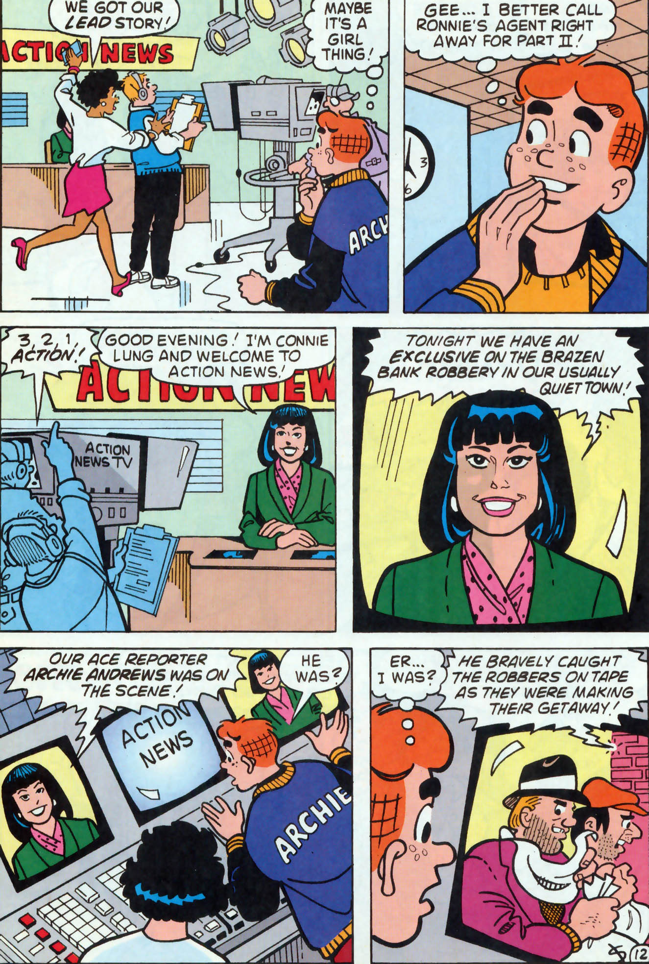 Read online Archie (1960) comic -  Issue #458 - 13