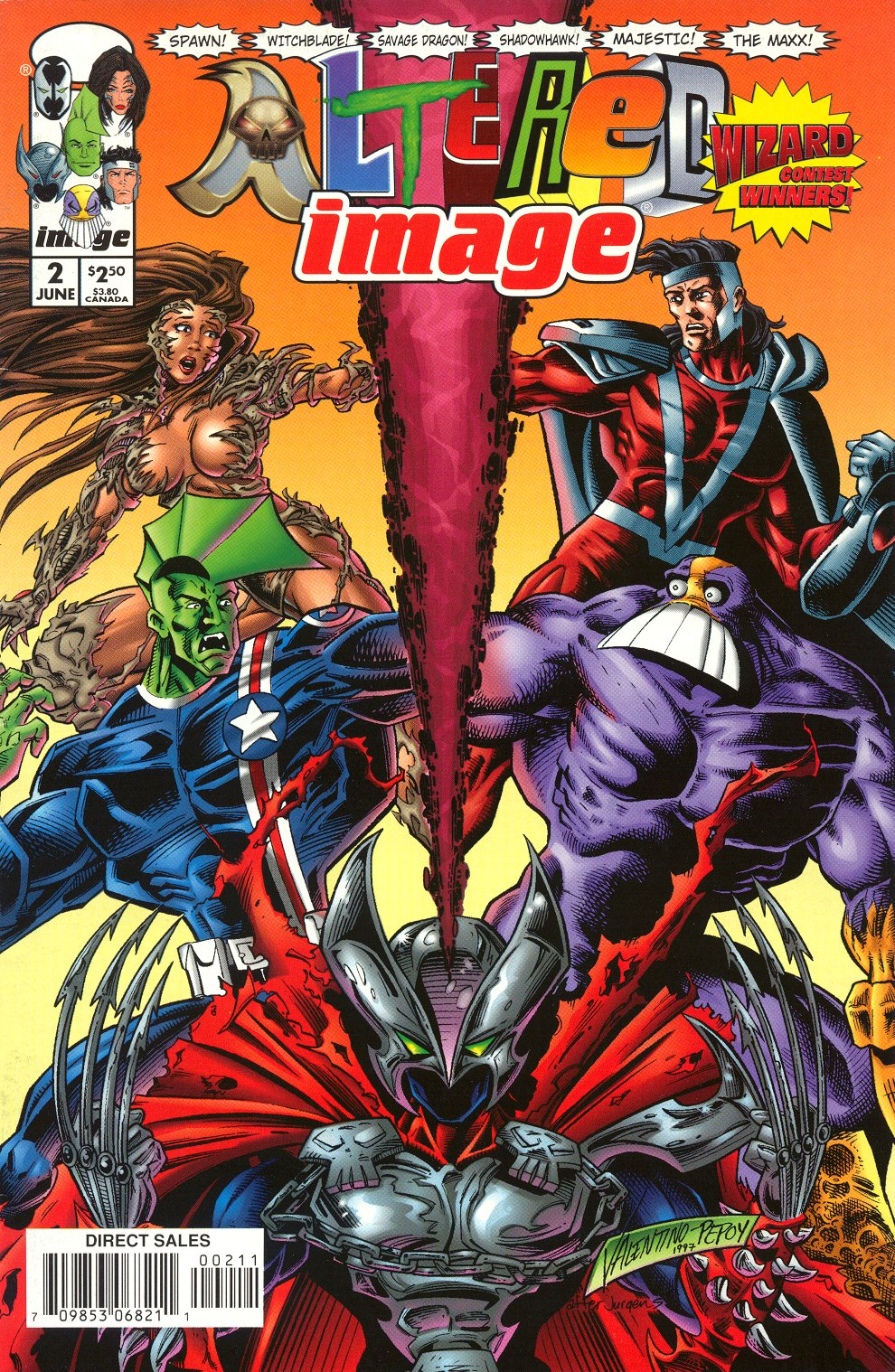 Read online Altered Image comic -  Issue #2 - 3