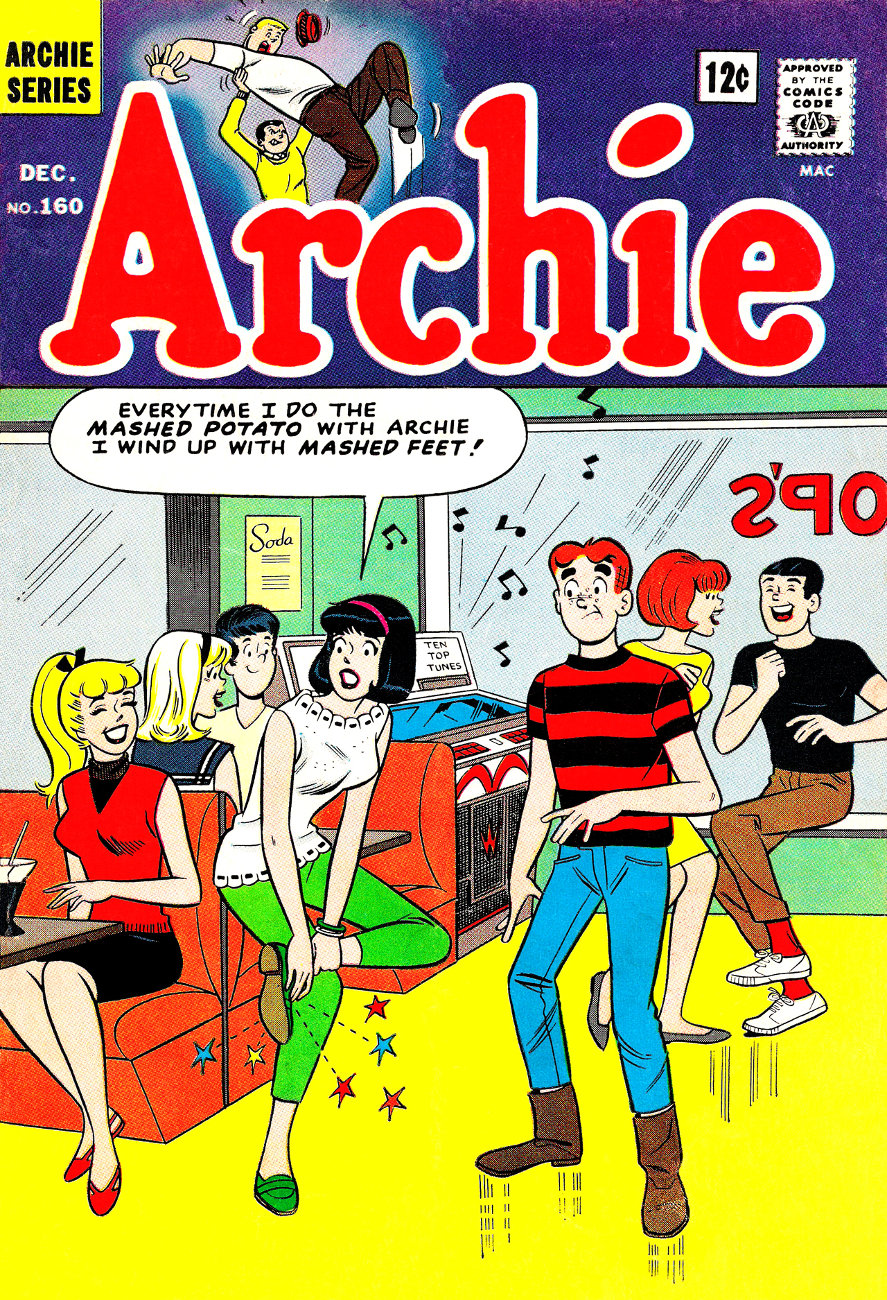 Read online Archie (1960) comic -  Issue #160 - 1