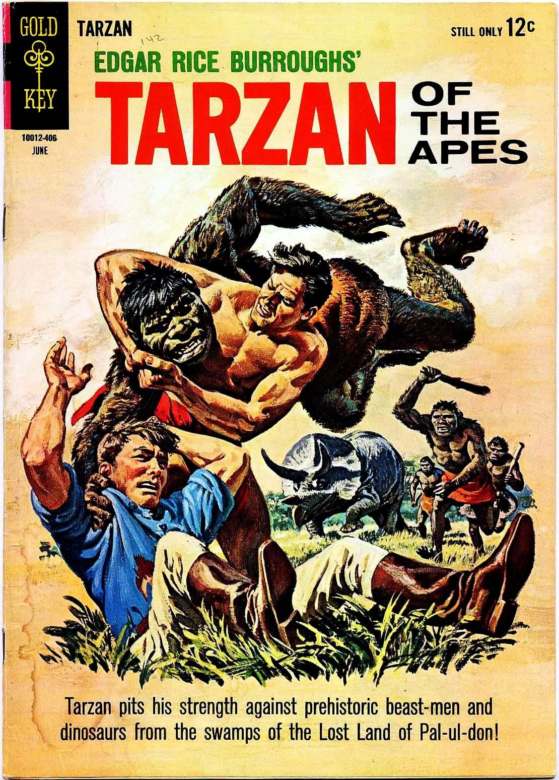 Tarzan (1962) issue 142 - Page 1