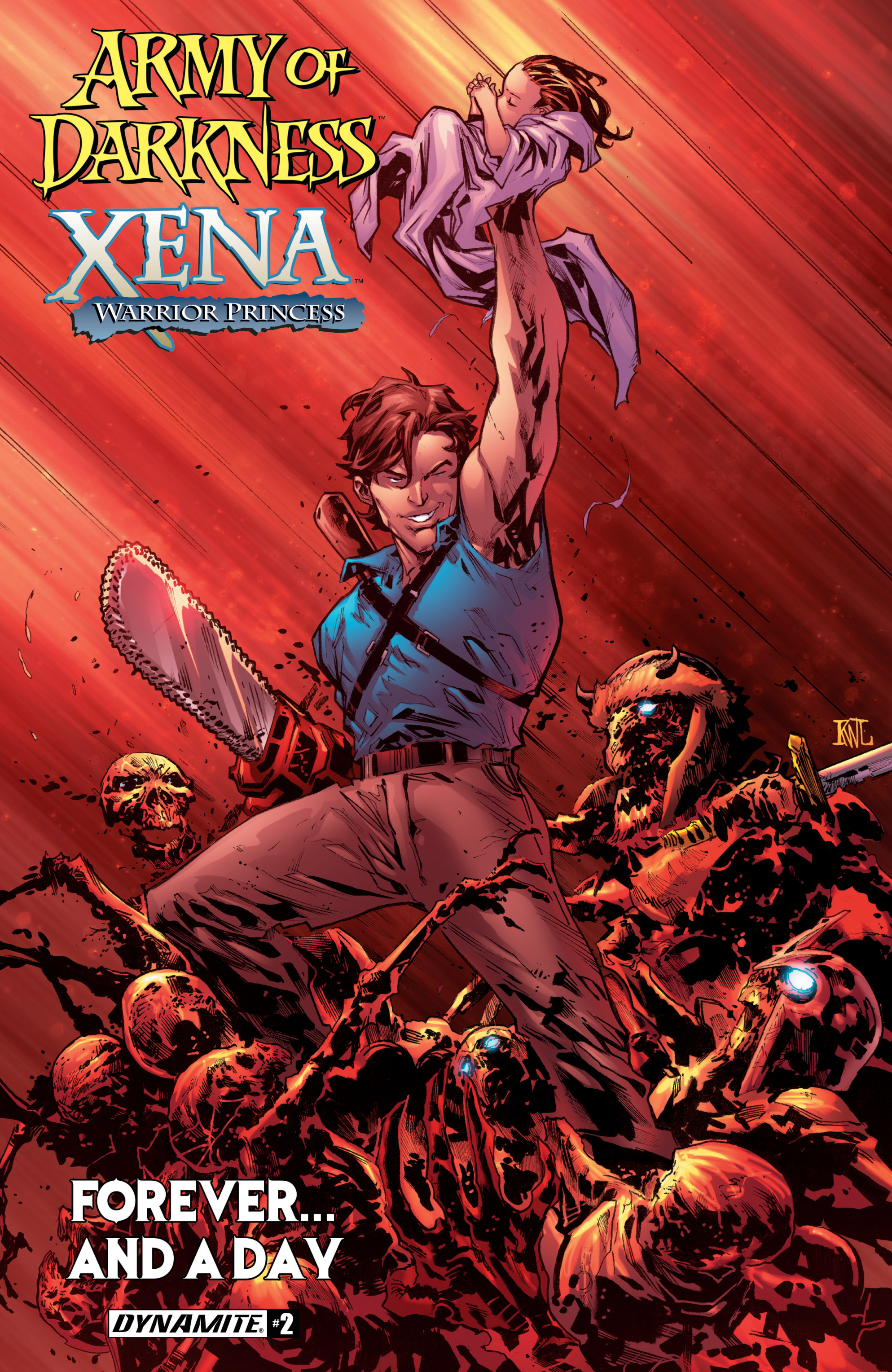 Read online Army Of Darkness/Xena: Forever…And A Day comic -  Issue #2 - 1