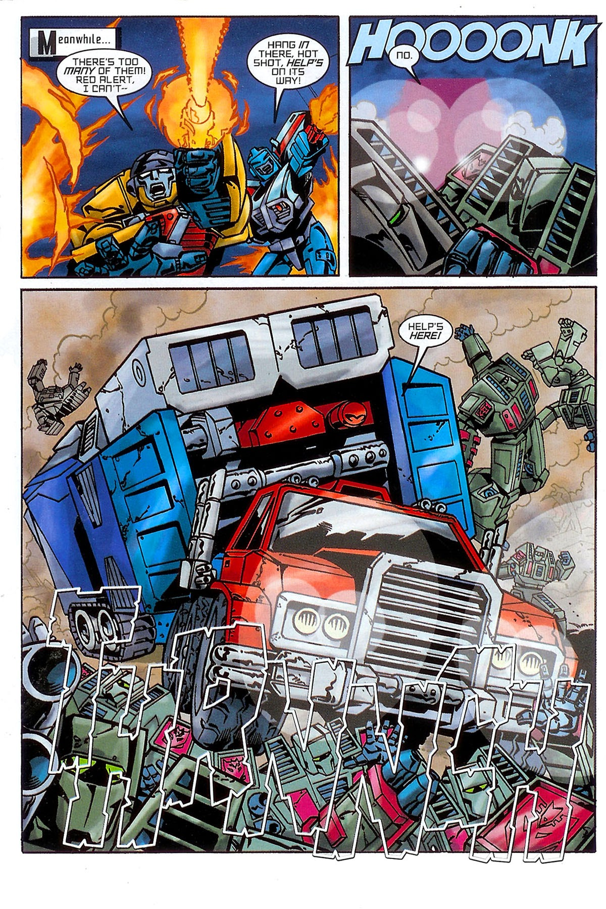 Read online Transformers: The Balance of Power comic -  Issue # Full - 10