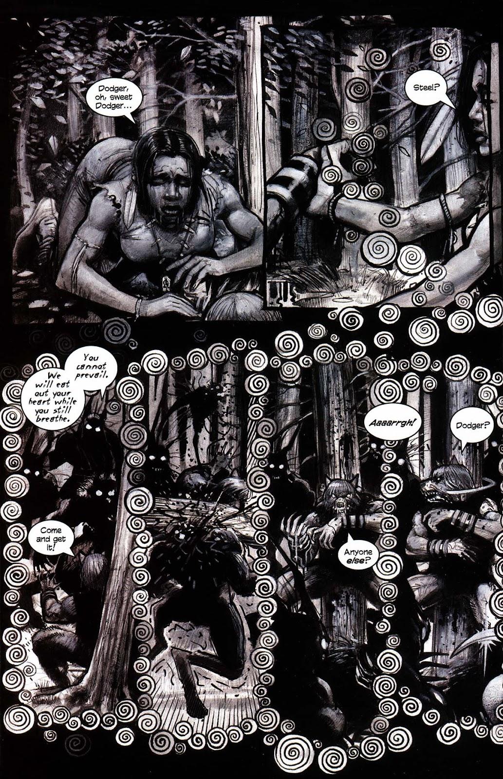 Read online Werewolf the Apocalypse comic -  Issue # Black Furies - 40
